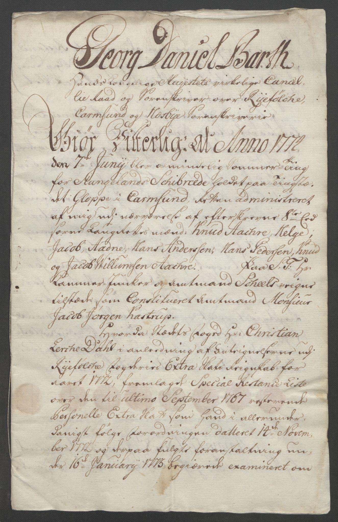RA, Rentekammeret inntil 1814, Reviderte regnskaper, Fogderegnskap, R47/L2972: Ekstraskatten Ryfylke, 1762-1780, s. 409