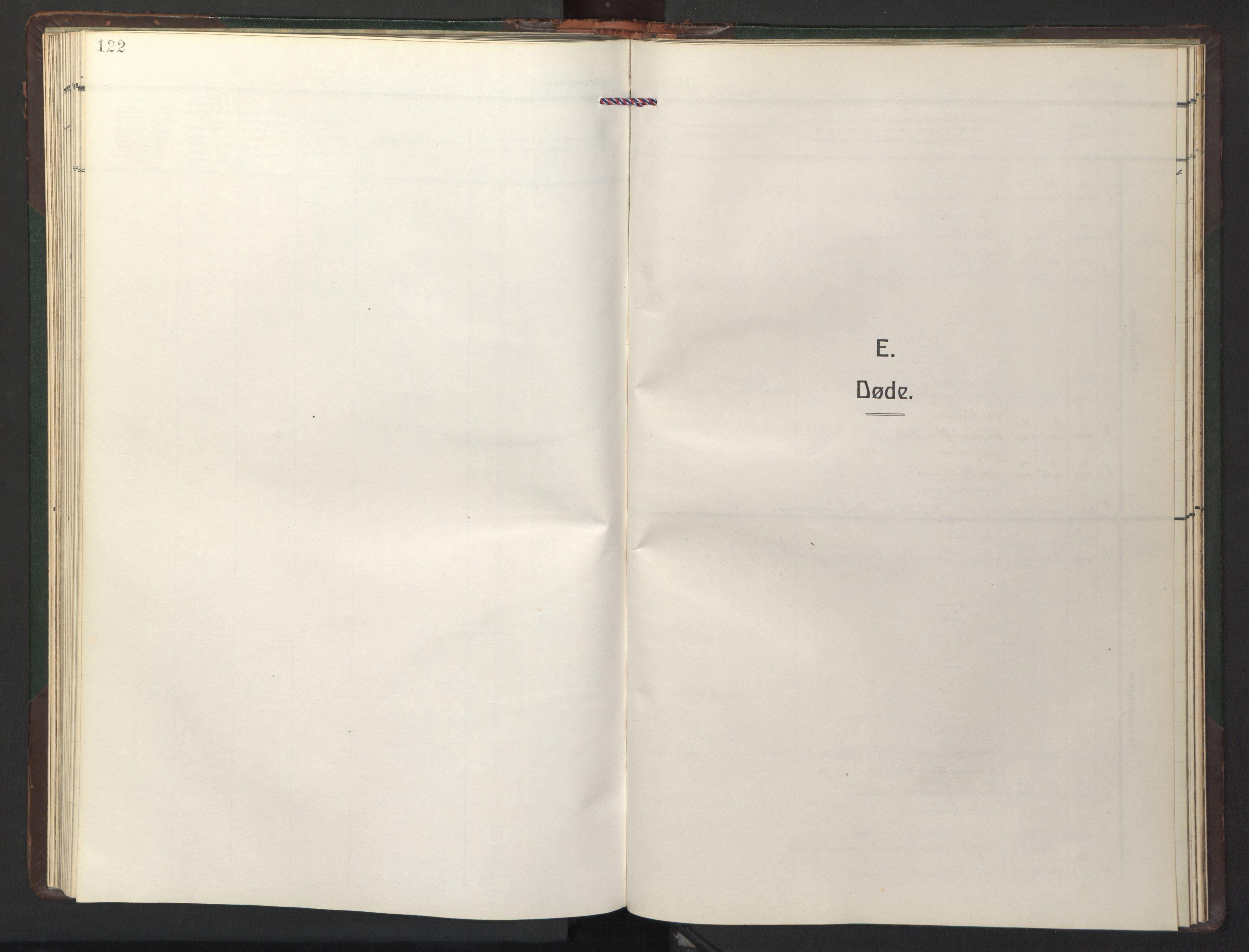 SAT, Ministerialprotokoller, klokkerbøker og fødselsregistre - Sør-Trøndelag, 681/L0944: Klokkerbok nr. 681C08, 1926-1954, s. 122