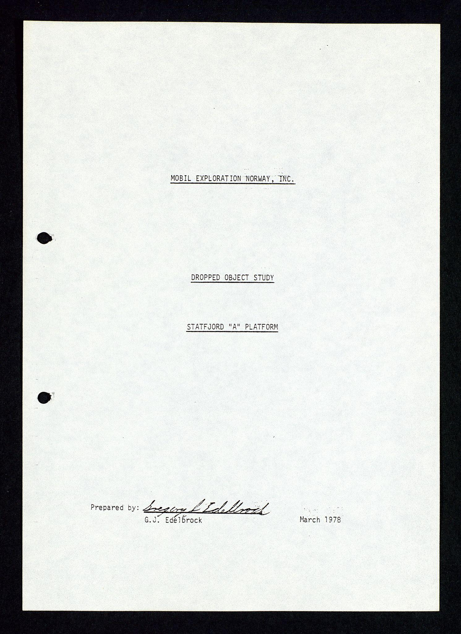 SAST, Pa 1339 - Statoil ASA, D/Dm/L0348: Gravitasjonsplattform betong, 1975-1978, s. 5