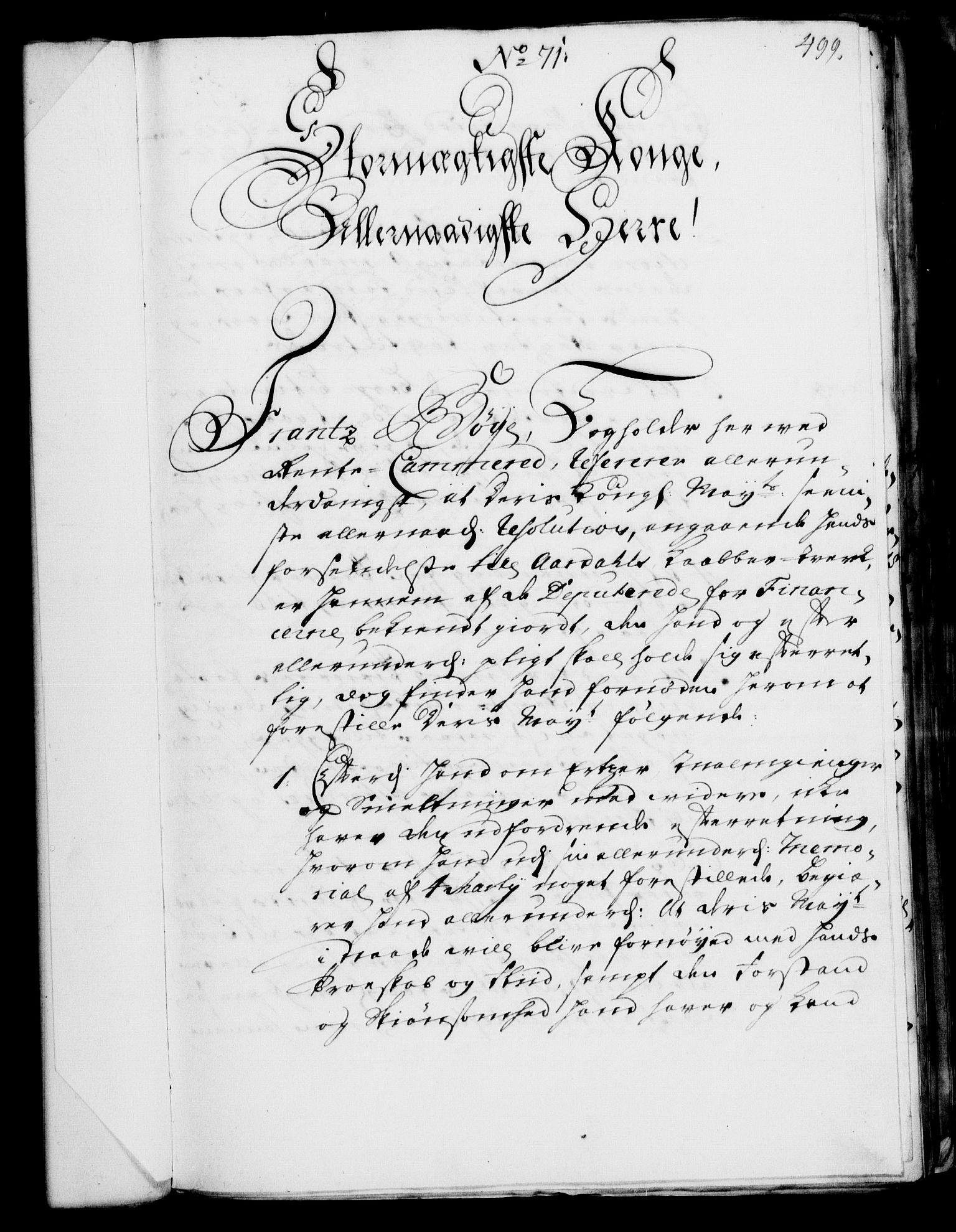 RA, Rentekammeret, Kammerkanselliet, G/Gf/Gfa/L0002: Norsk relasjons- og resolusjonsprotokoll (merket RK 52.2), 1720, s. 482