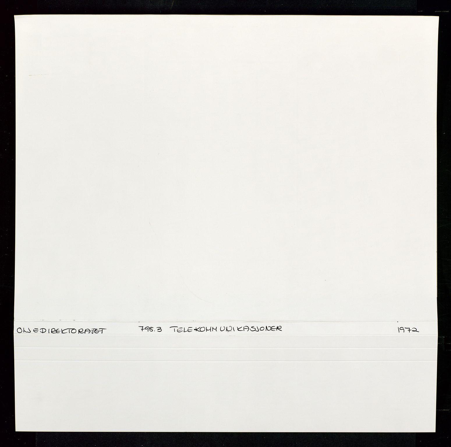 SAST, Industridepartementet, Oljekontoret, Da/L0012: Arkivnøkkel 798 Helikopter, luftfart, telekommunikasjon og skademeldinger/ulykker, 1966-1972, s. 314