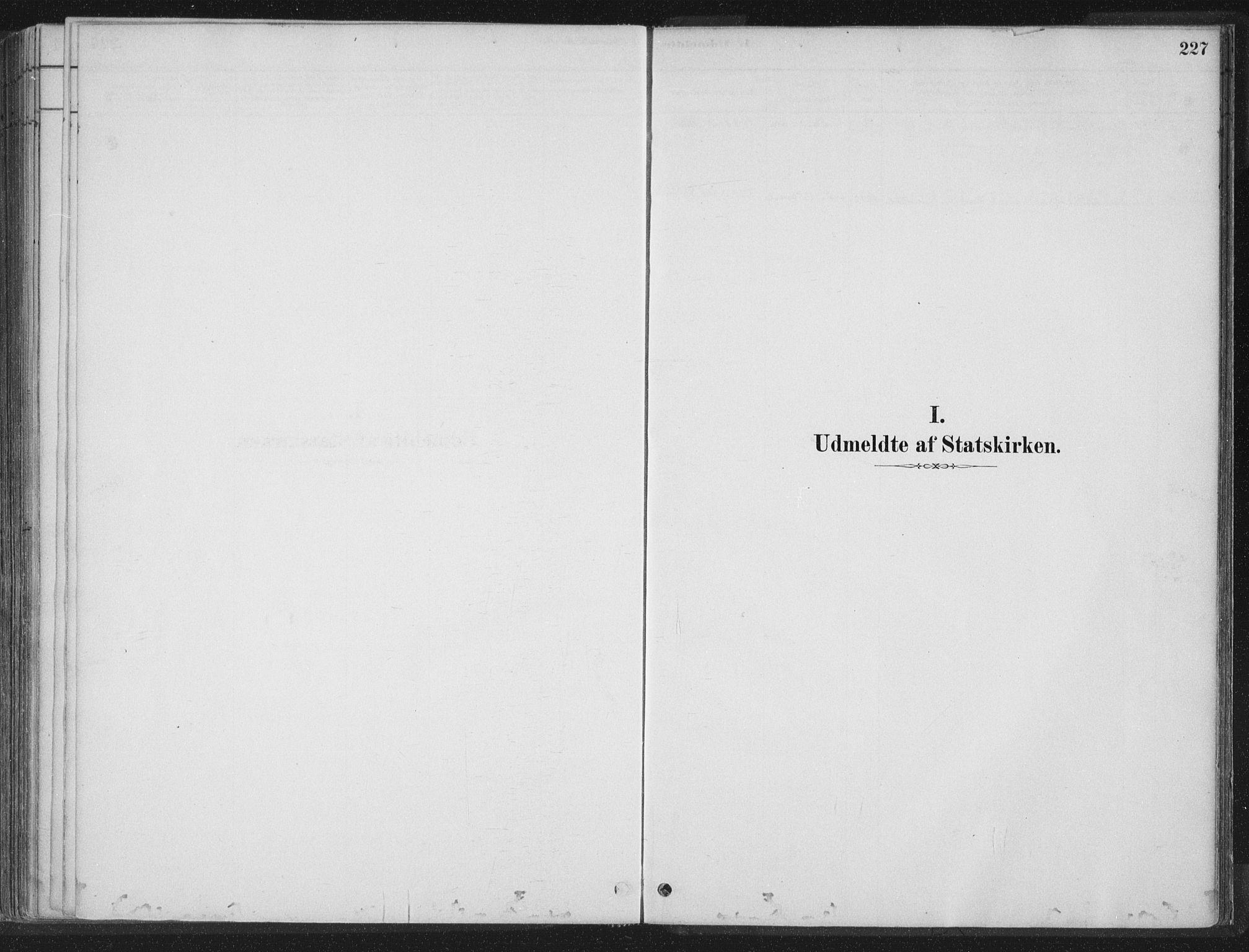 SAT, Ministerialprotokoller, klokkerbøker og fødselsregistre - Nord-Trøndelag, 788/L0697: Ministerialbok nr. 788A04, 1878-1902, s. 227
