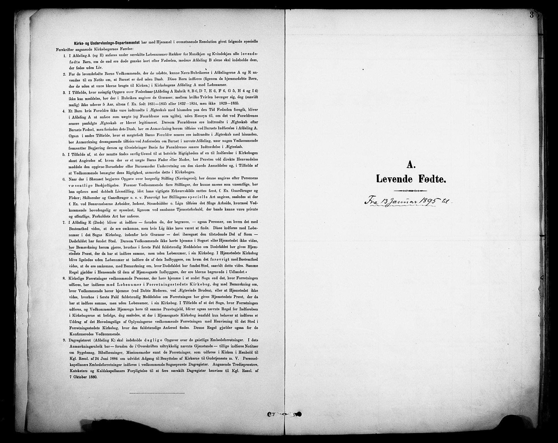 SAKO, Sannidal kirkebøker, F/Fa/L0016: Ministerialbok nr. 16, 1895-1911, s. 3