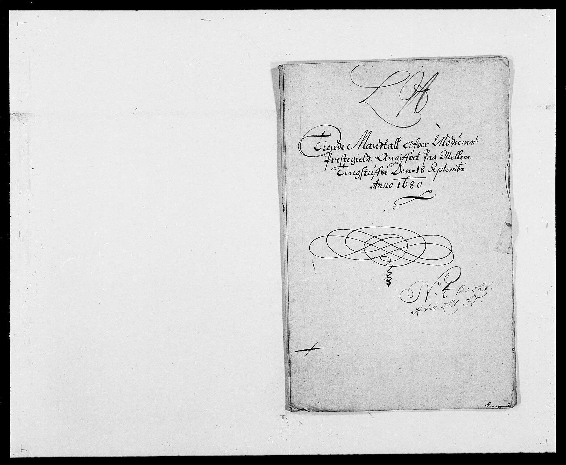 RA, Rentekammeret inntil 1814, Reviderte regnskaper, Fogderegnskap, R25/L1675: Fogderegnskap Buskerud, 1678-1681, s. 155