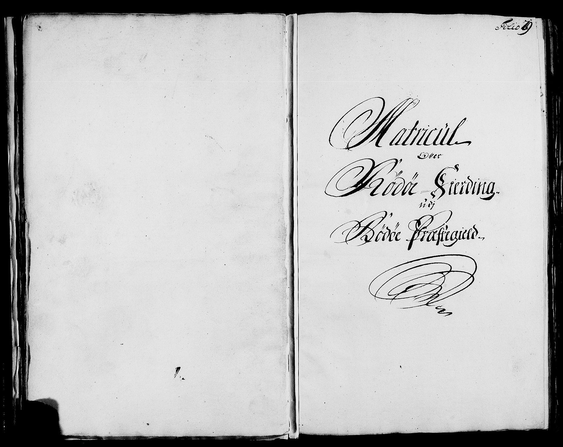 RA, Rentekammeret inntil 1814, Realistisk ordnet avdeling, N/Nb/Nbf/L0171: Helgeland matrikkelprotokoll, 1723, s. 28b-29a