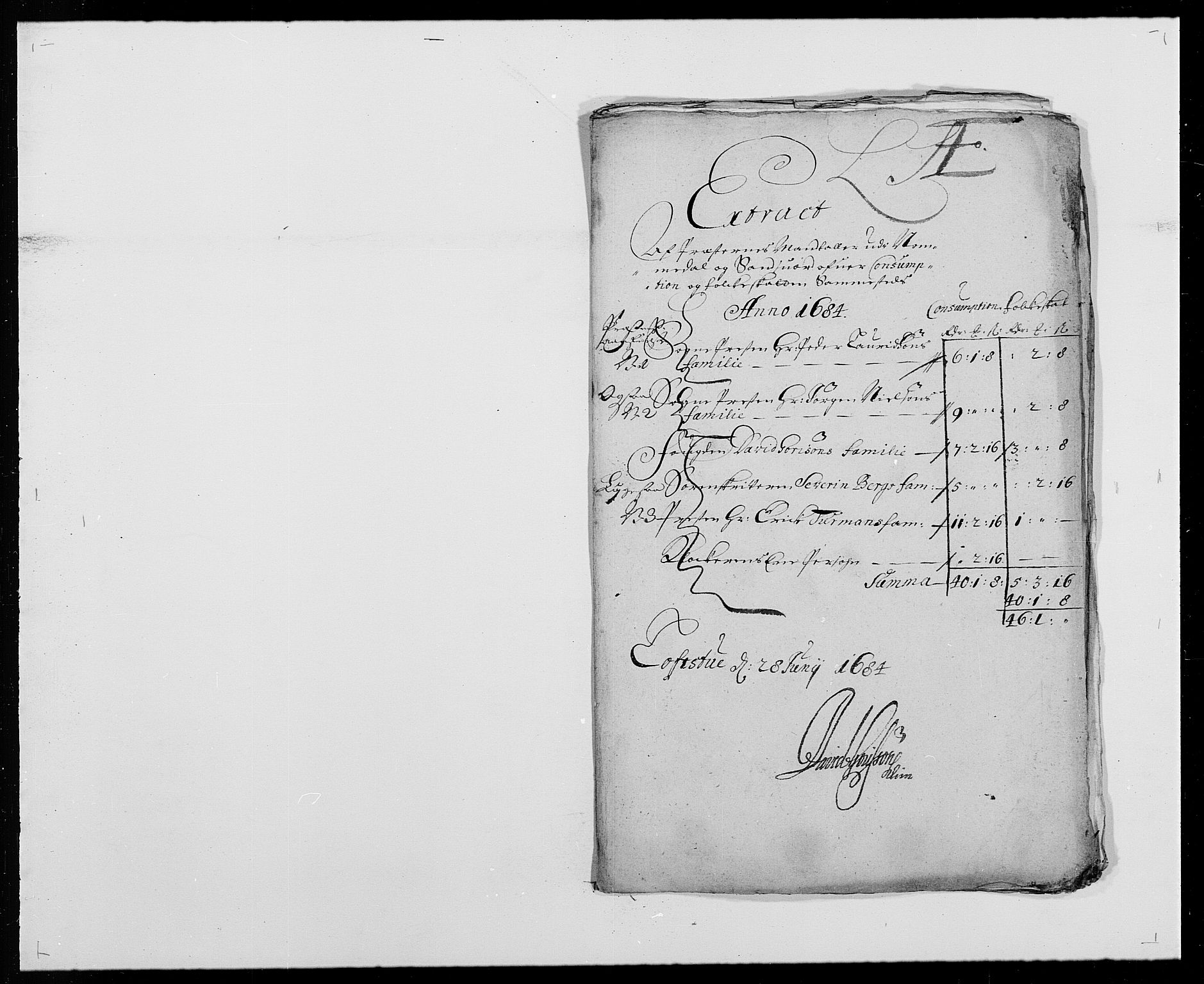 RA, Rentekammeret inntil 1814, Reviderte regnskaper, Fogderegnskap, R24/L1571: Fogderegnskap Numedal og Sandsvær, 1679-1686, s. 221