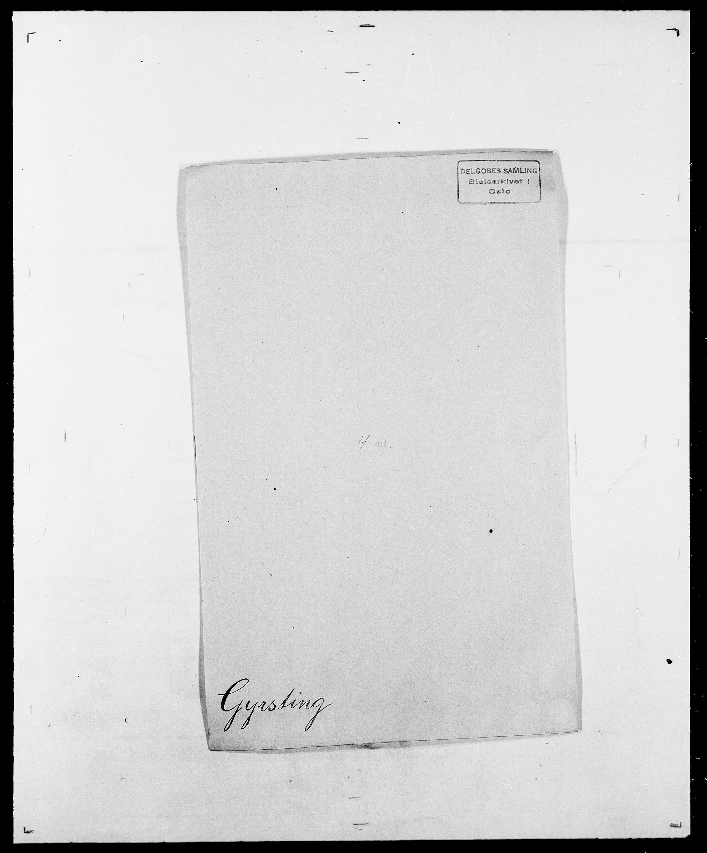 SAO, Delgobe, Charles Antoine - samling, D/Da/L0015: Grodtshilling - Halvorsæth, s. 539