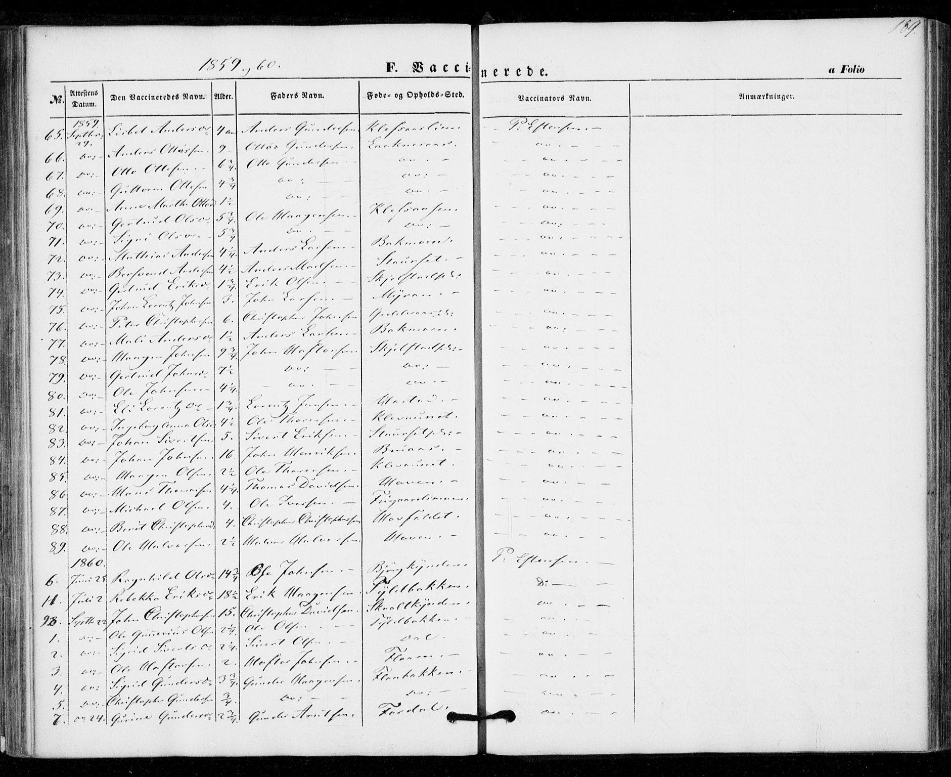 SAT, Ministerialprotokoller, klokkerbøker og fødselsregistre - Nord-Trøndelag, 703/L0028: Ministerialbok nr. 703A01, 1850-1862, s. 189