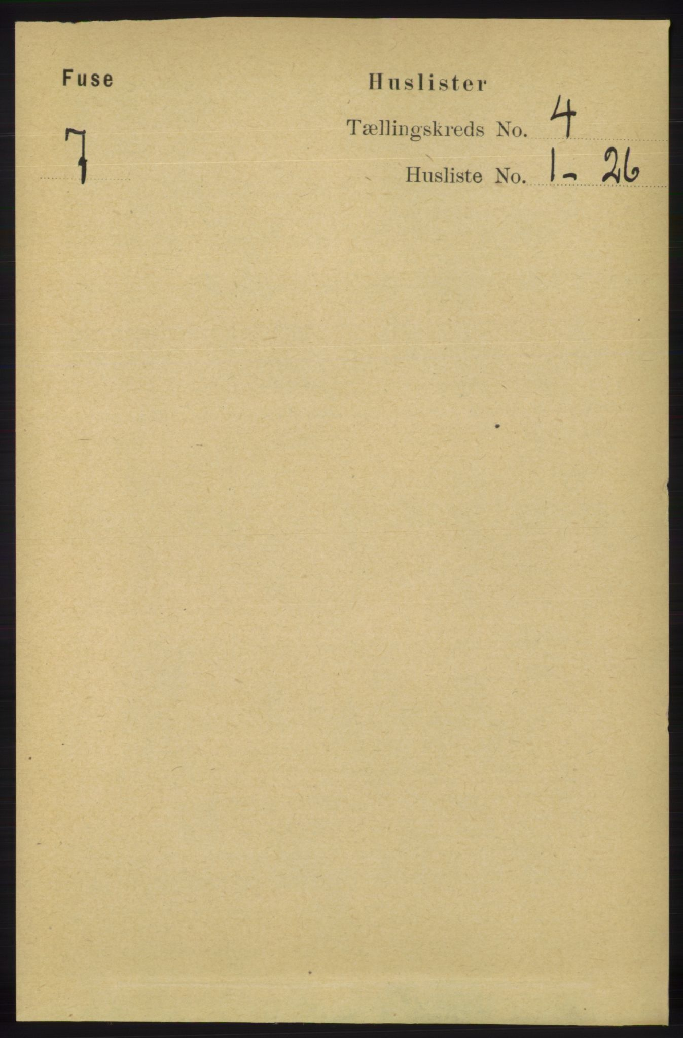 RA, Folketelling 1891 for 1241 Fusa herred, 1891, s. 676