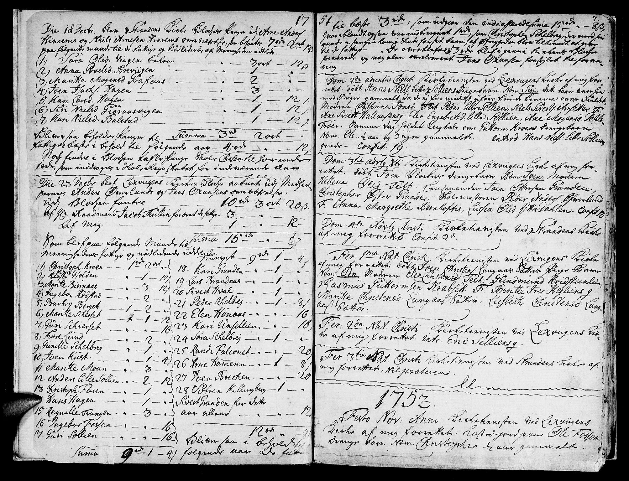 SAT, Ministerialprotokoller, klokkerbøker og fødselsregistre - Nord-Trøndelag, 701/L0003: Ministerialbok nr. 701A03, 1751-1783, s. 7