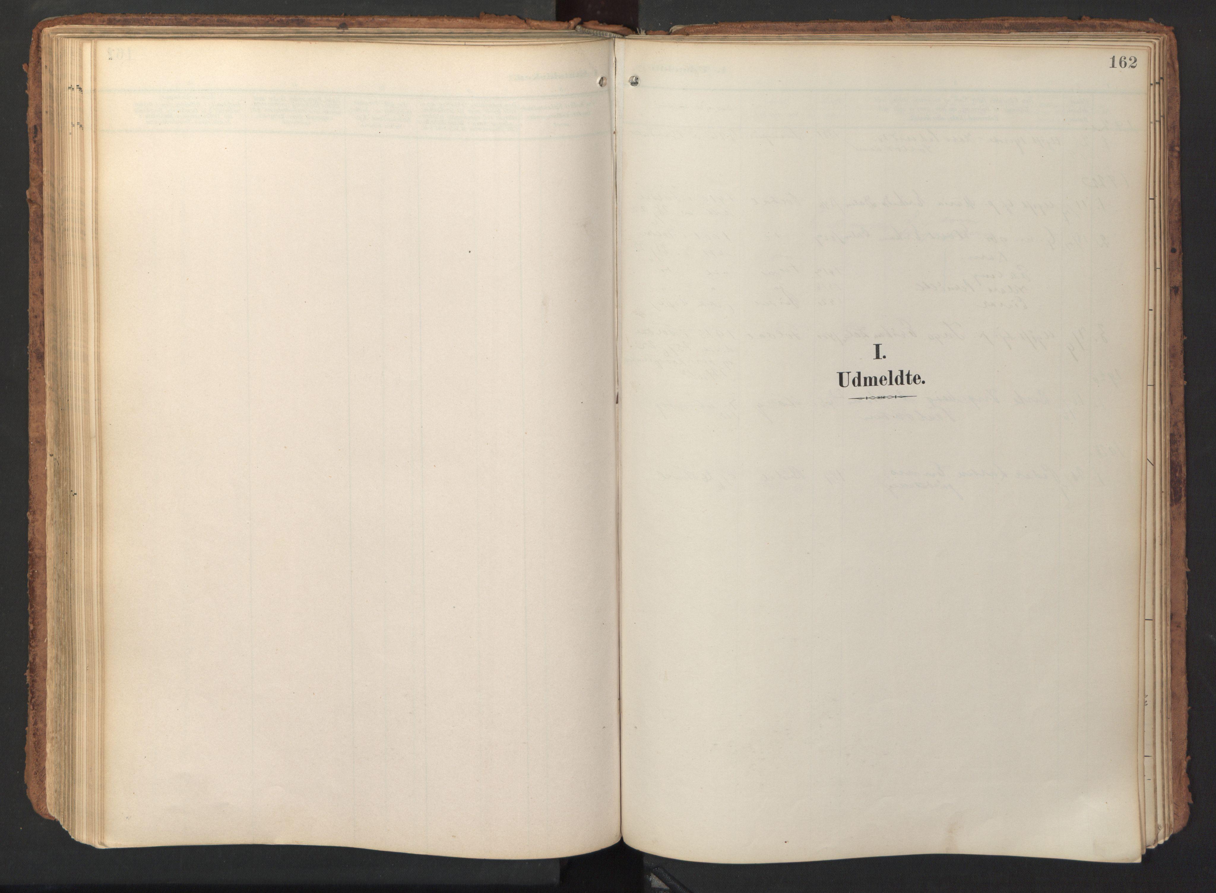 SAT, Ministerialprotokoller, klokkerbøker og fødselsregistre - Sør-Trøndelag, 690/L1050: Ministerialbok nr. 690A01, 1889-1929, s. 162