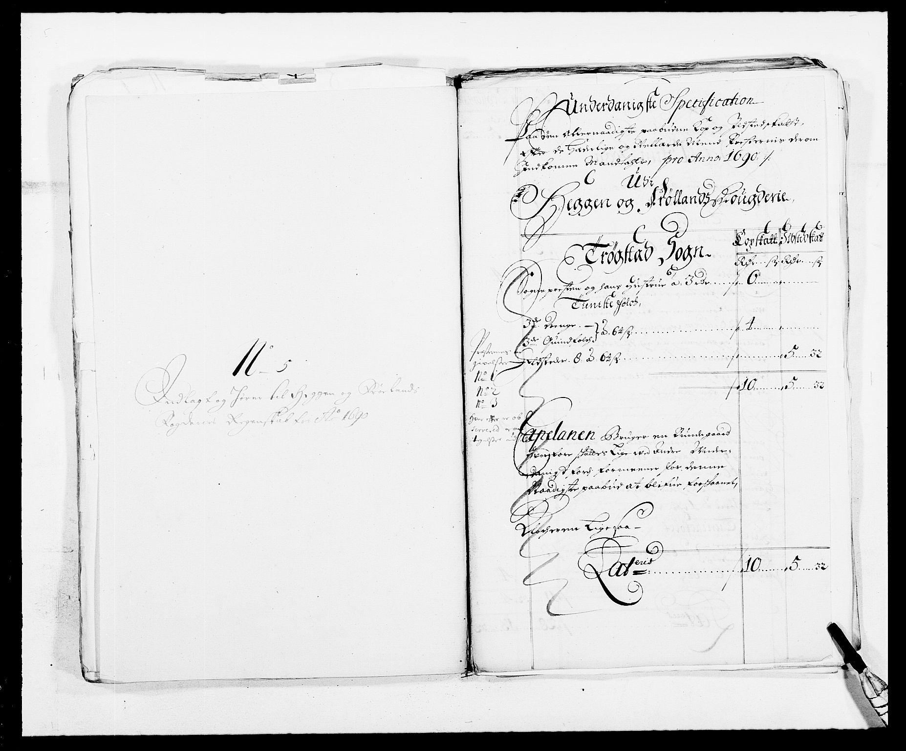RA, Rentekammeret inntil 1814, Reviderte regnskaper, Fogderegnskap, R06/L0282: Fogderegnskap Heggen og Frøland, 1687-1690, s. 252