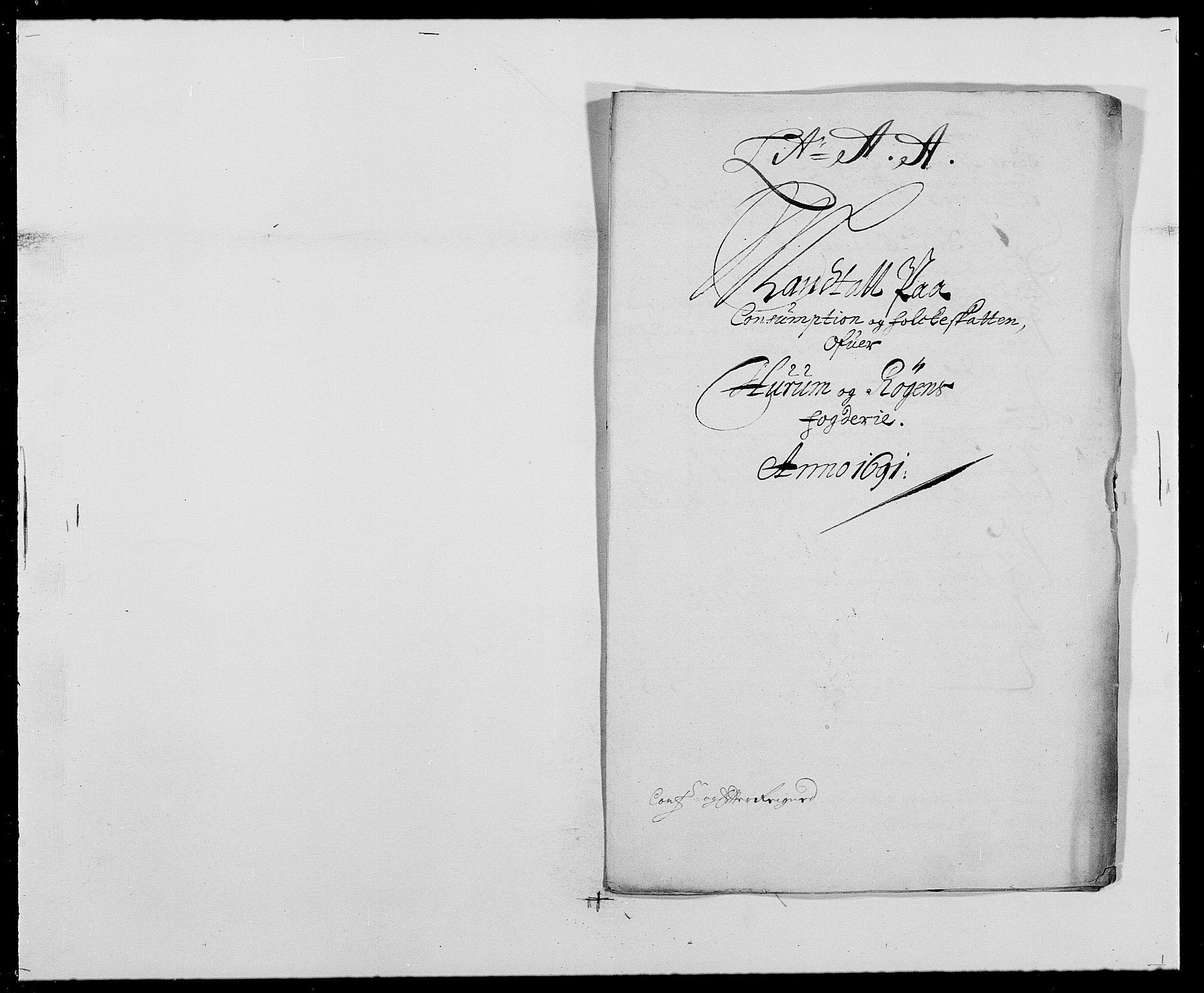 RA, Rentekammeret inntil 1814, Reviderte regnskaper, Fogderegnskap, R29/L1693: Fogderegnskap Hurum og Røyken, 1688-1693, s. 218
