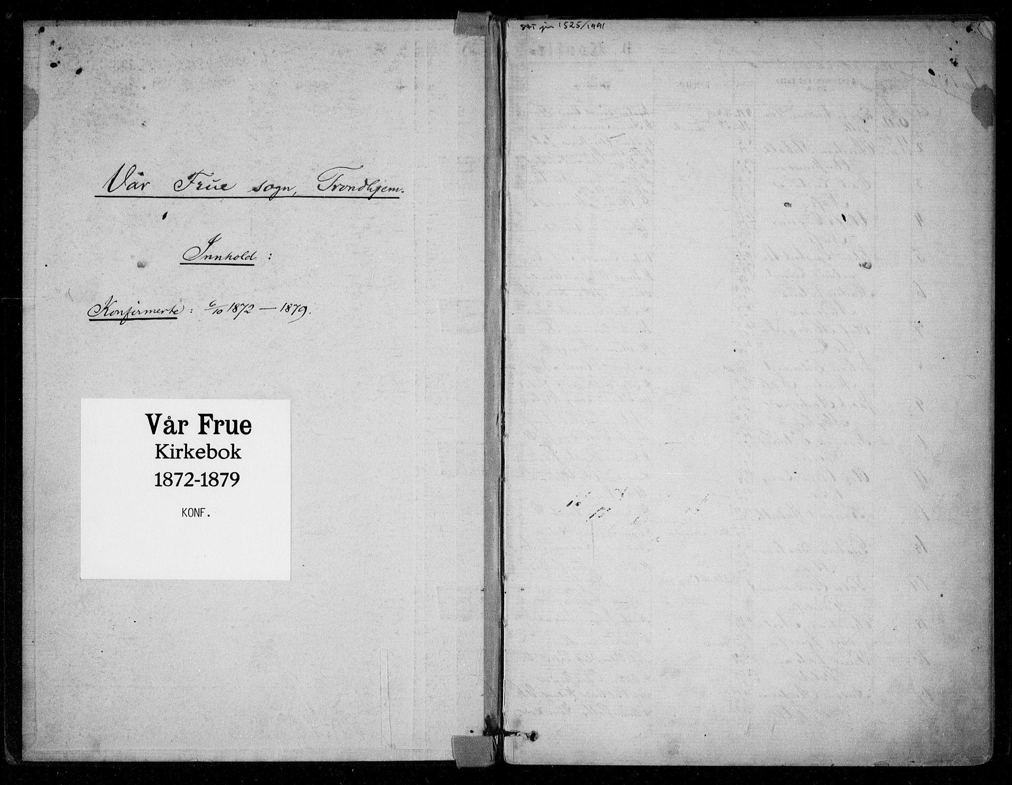SAT, Ministerialprotokoller, klokkerbøker og fødselsregistre - Sør-Trøndelag, 602/L0121: Ministerialbok nr. 602A19, 1872-1879