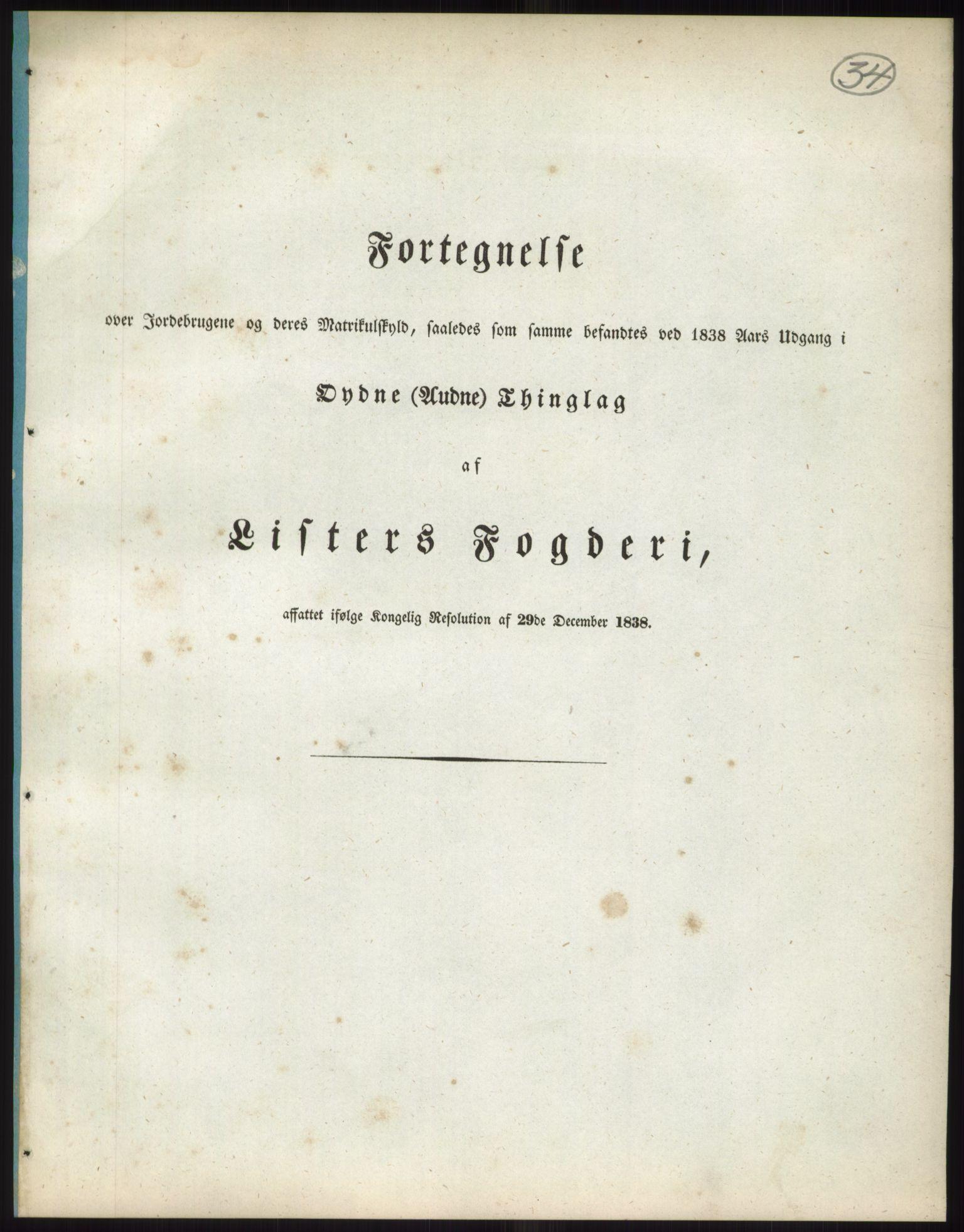 RA, 1838-matrikkelen (publikasjon)*, 1838, s. 34