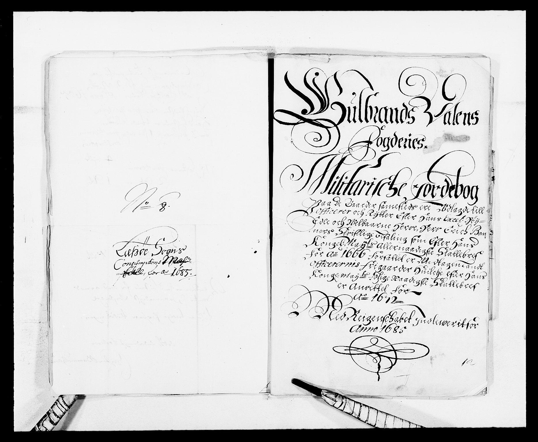 RA, Rentekammeret inntil 1814, Reviderte regnskaper, Fogderegnskap, R17/L1160: Fogderegnskap Gudbrandsdal, 1682-1689, s. 279