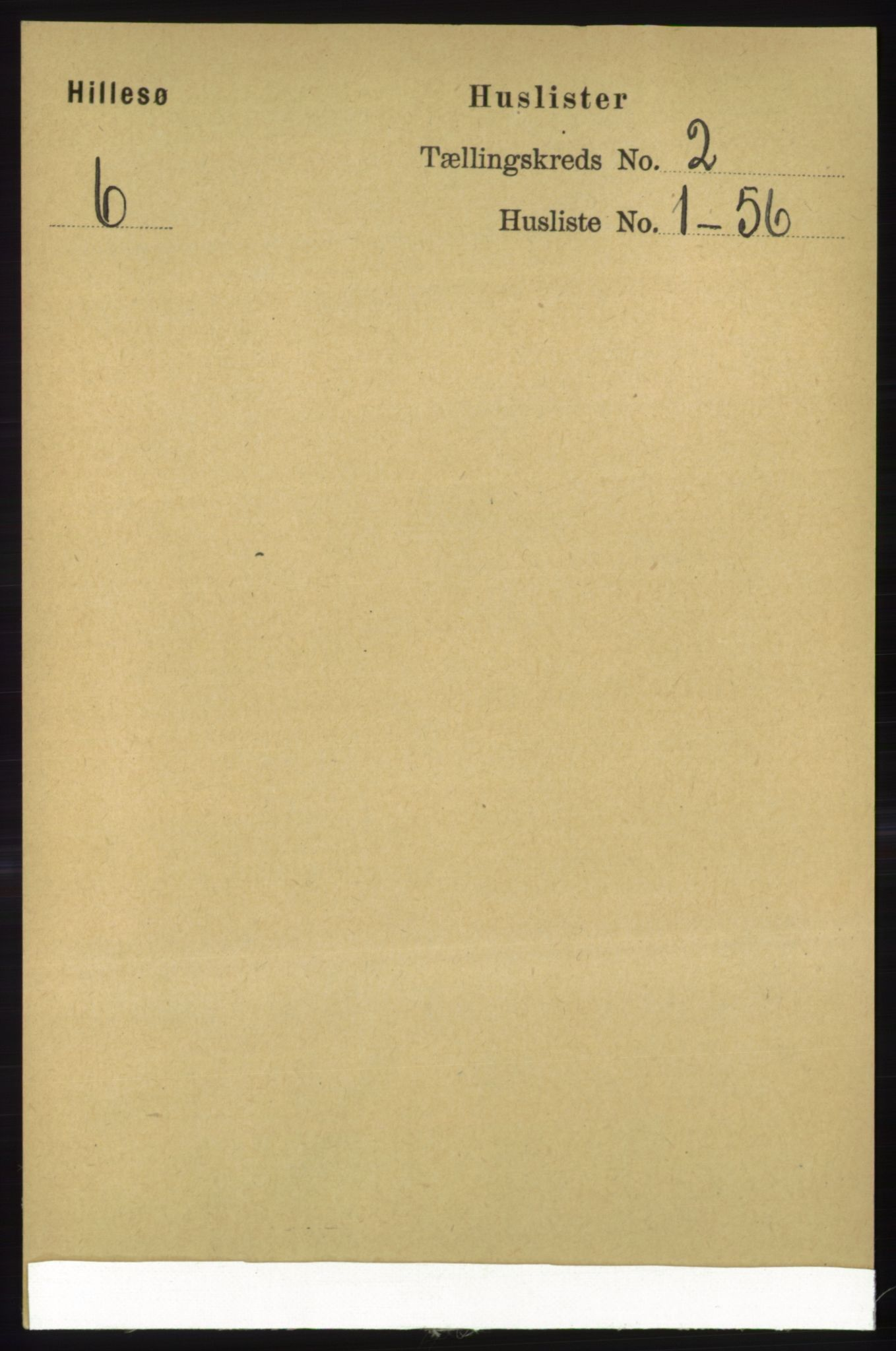 RA, Folketelling 1891 for 1930 Hillesøy herred, 1891, s. 569