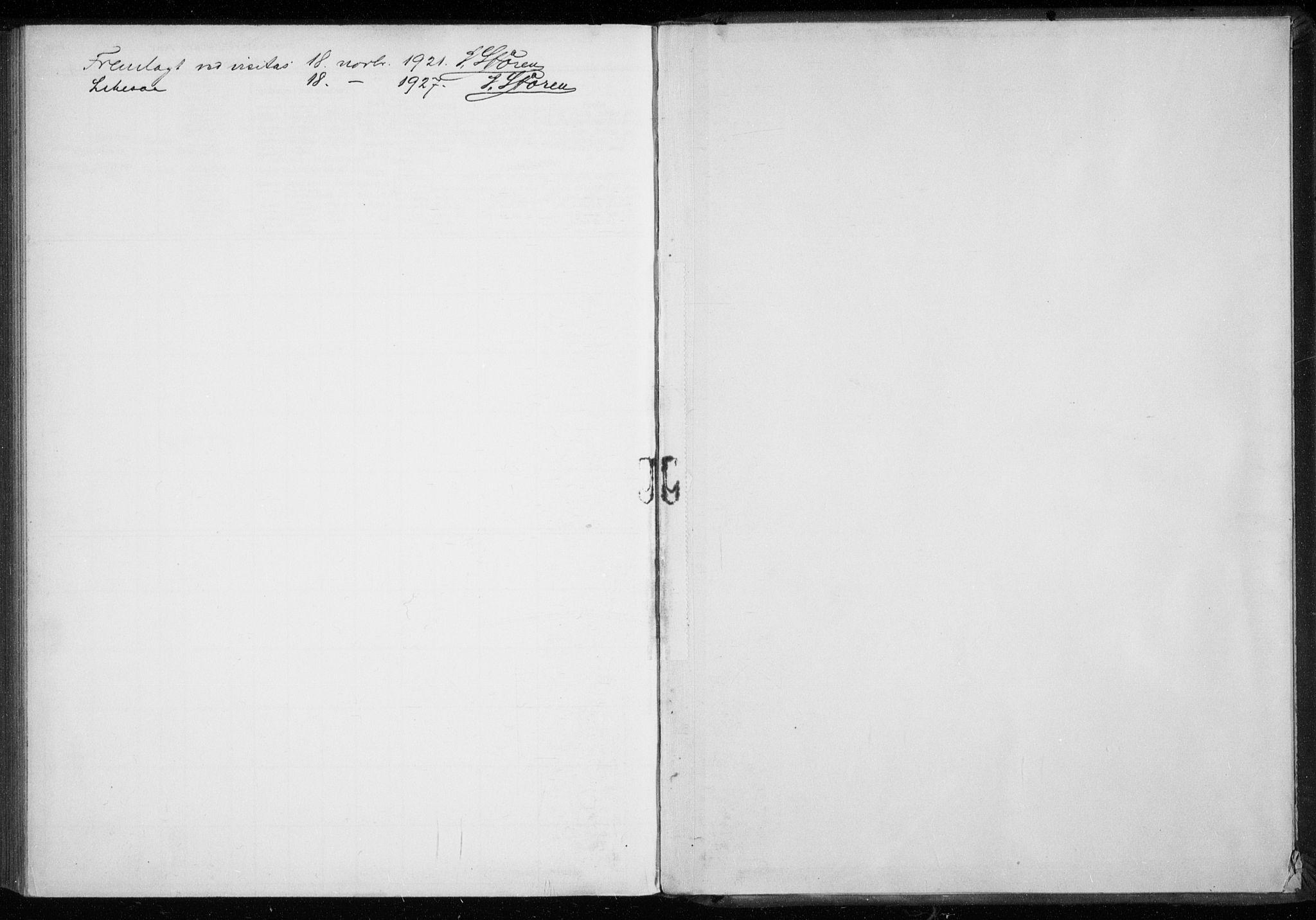 SATØ, Tromsø sokneprestkontor/stiftsprosti/domprosti, H/Ha/L0132: Fødselsregister nr. 132, 1921-1927
