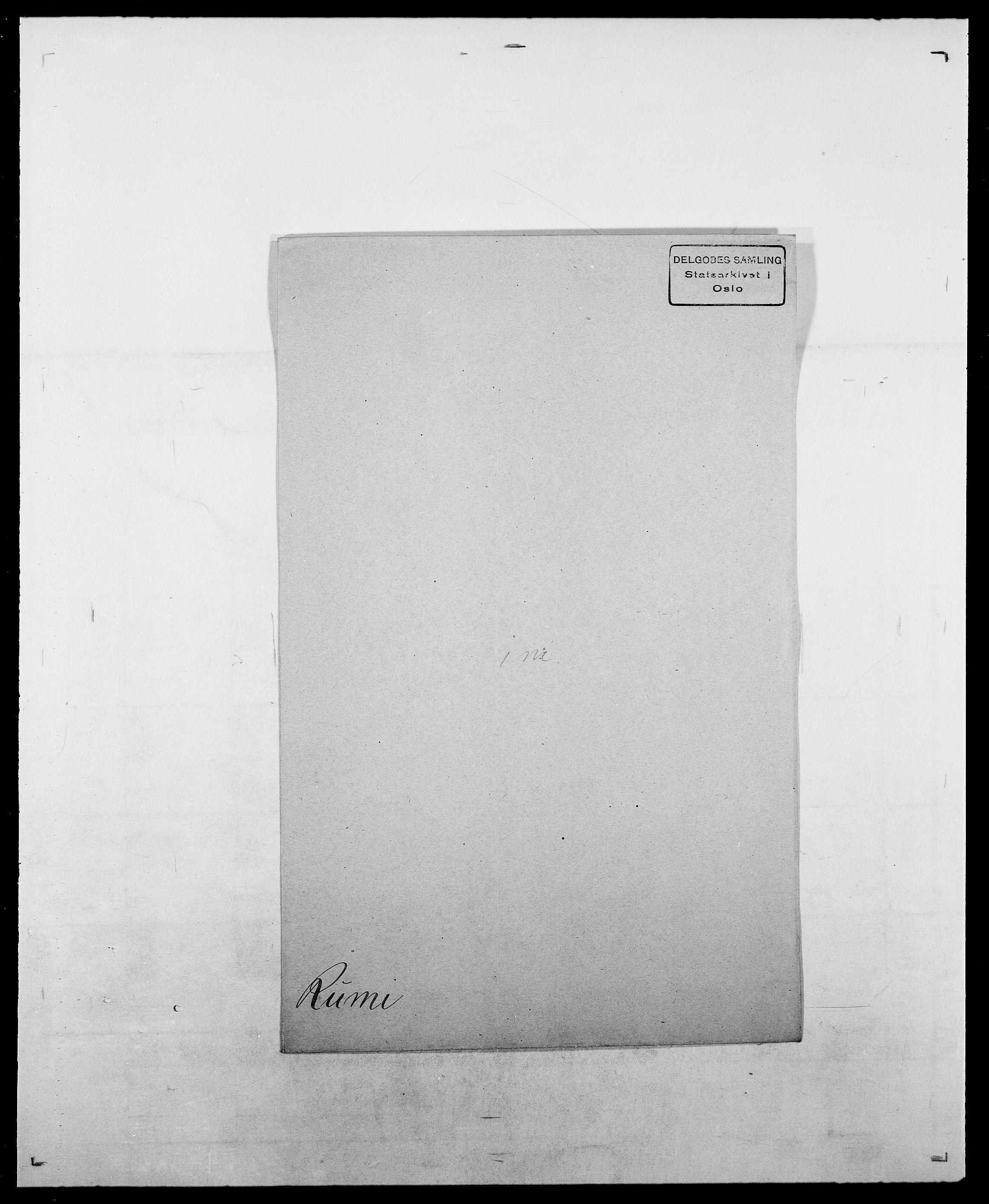 SAO, Delgobe, Charles Antoine - samling, D/Da/L0033: Roald - Røyem, s. 457