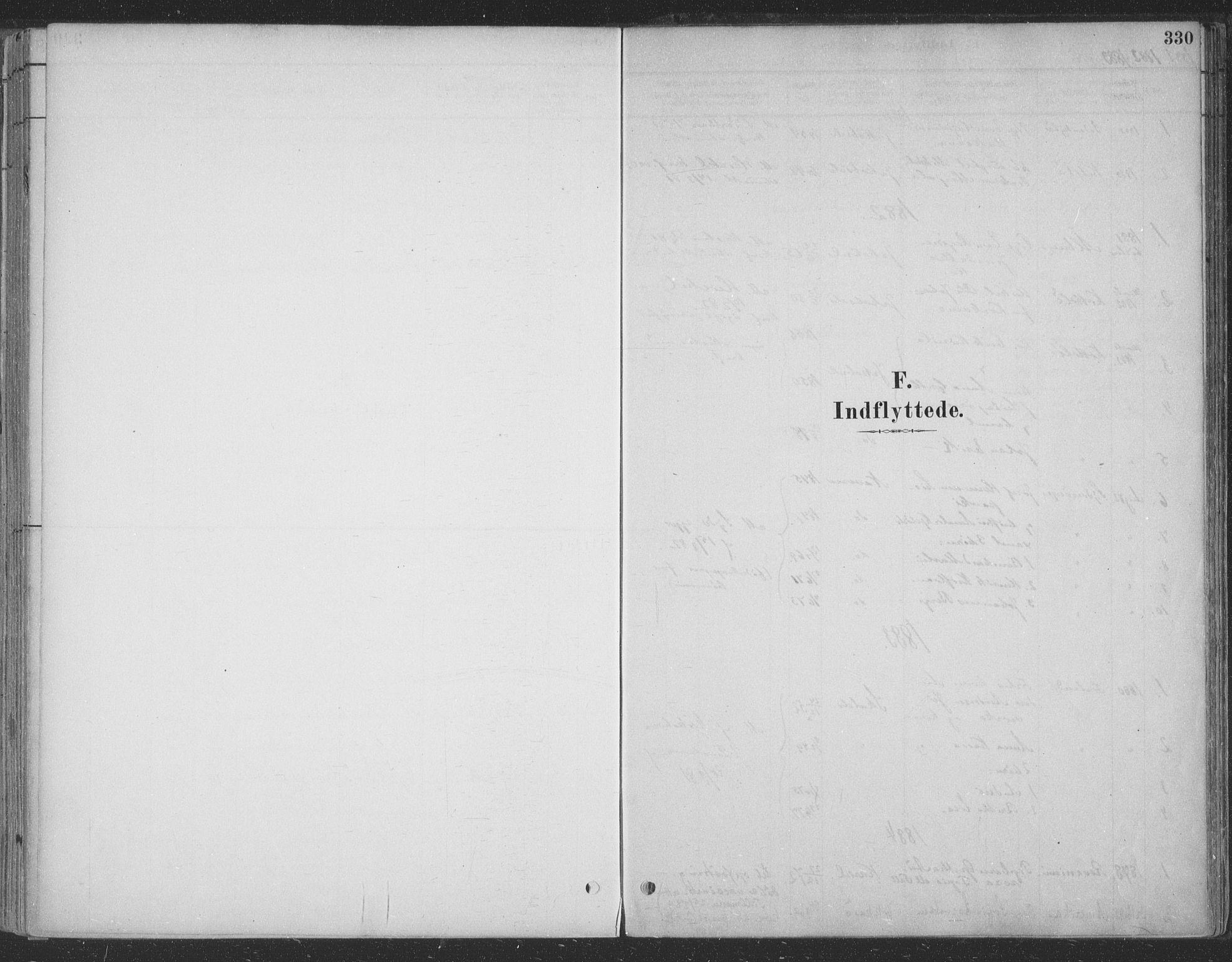 SATØ, Vadsø soknepreskontor, H/Ha/L0009kirke: Ministerialbok nr. 9, 1881-1917, s. 330