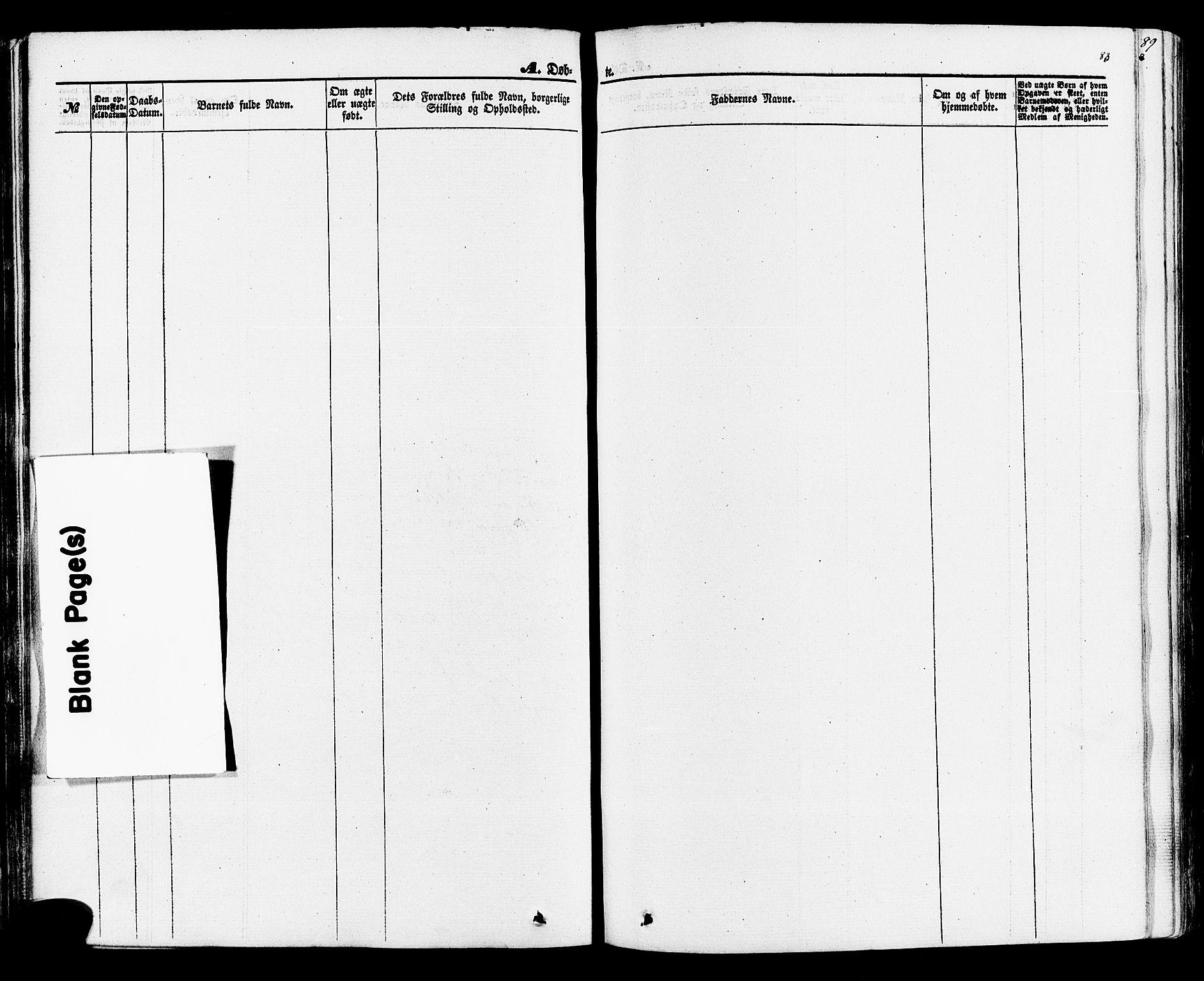 SAKO, Rauland kirkebøker, F/Fa/L0003: Ministerialbok nr. 3, 1859-1886, s. 83