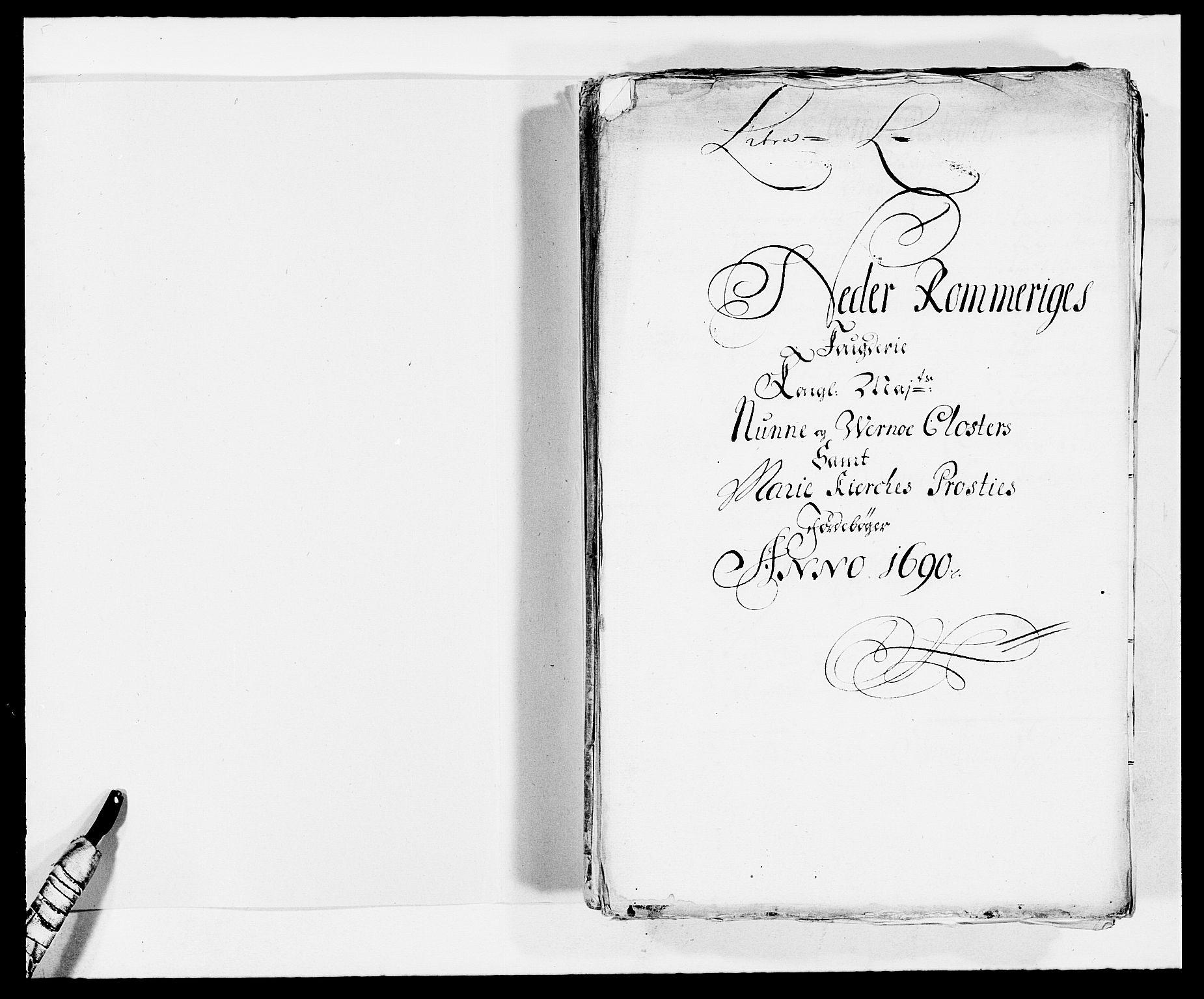 RA, Rentekammeret inntil 1814, Reviderte regnskaper, Fogderegnskap, R11/L0574: Fogderegnskap Nedre Romerike, 1689-1690, s. 246