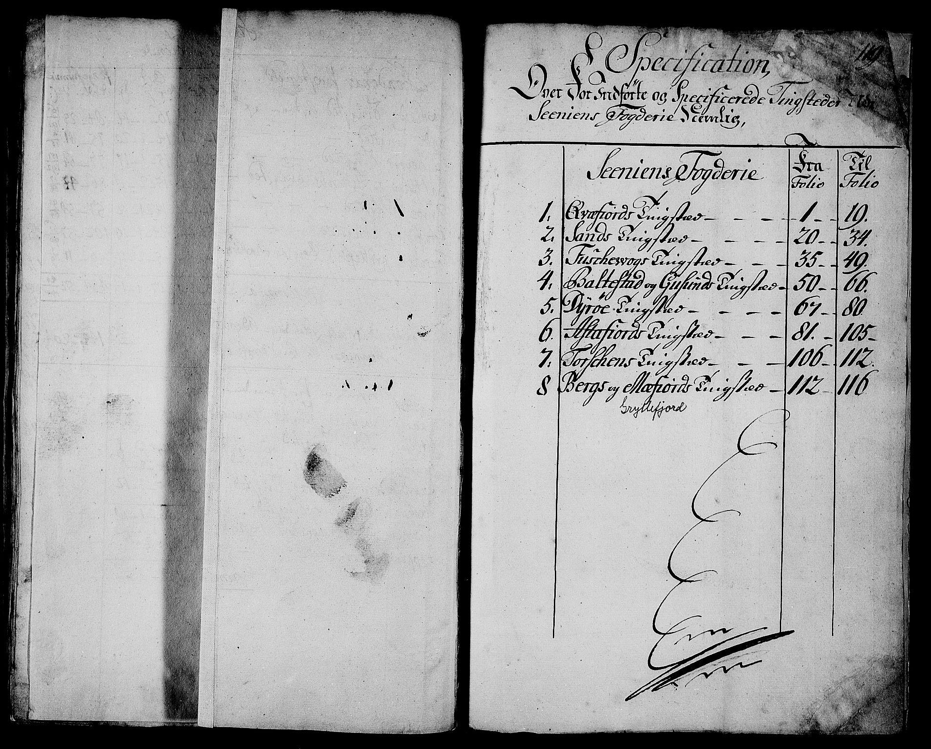 RA, Rentekammeret inntil 1814, Realistisk ordnet avdeling, N/Nb/Nbf/L0179: Senja matrikkelprotokoll, 1723, s. upaginert