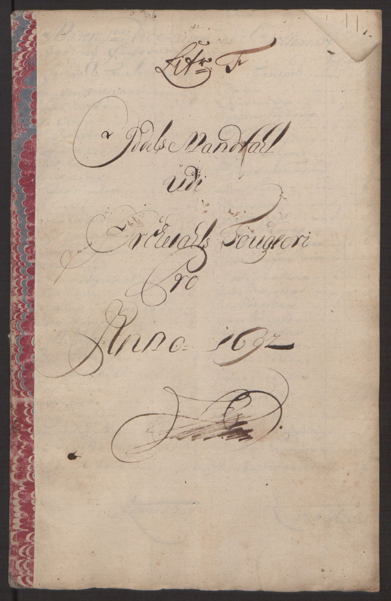 RA, Rentekammeret inntil 1814, Reviderte regnskaper, Fogderegnskap, R58/L3937: Fogderegnskap Orkdal, 1691-1692, s. 254
