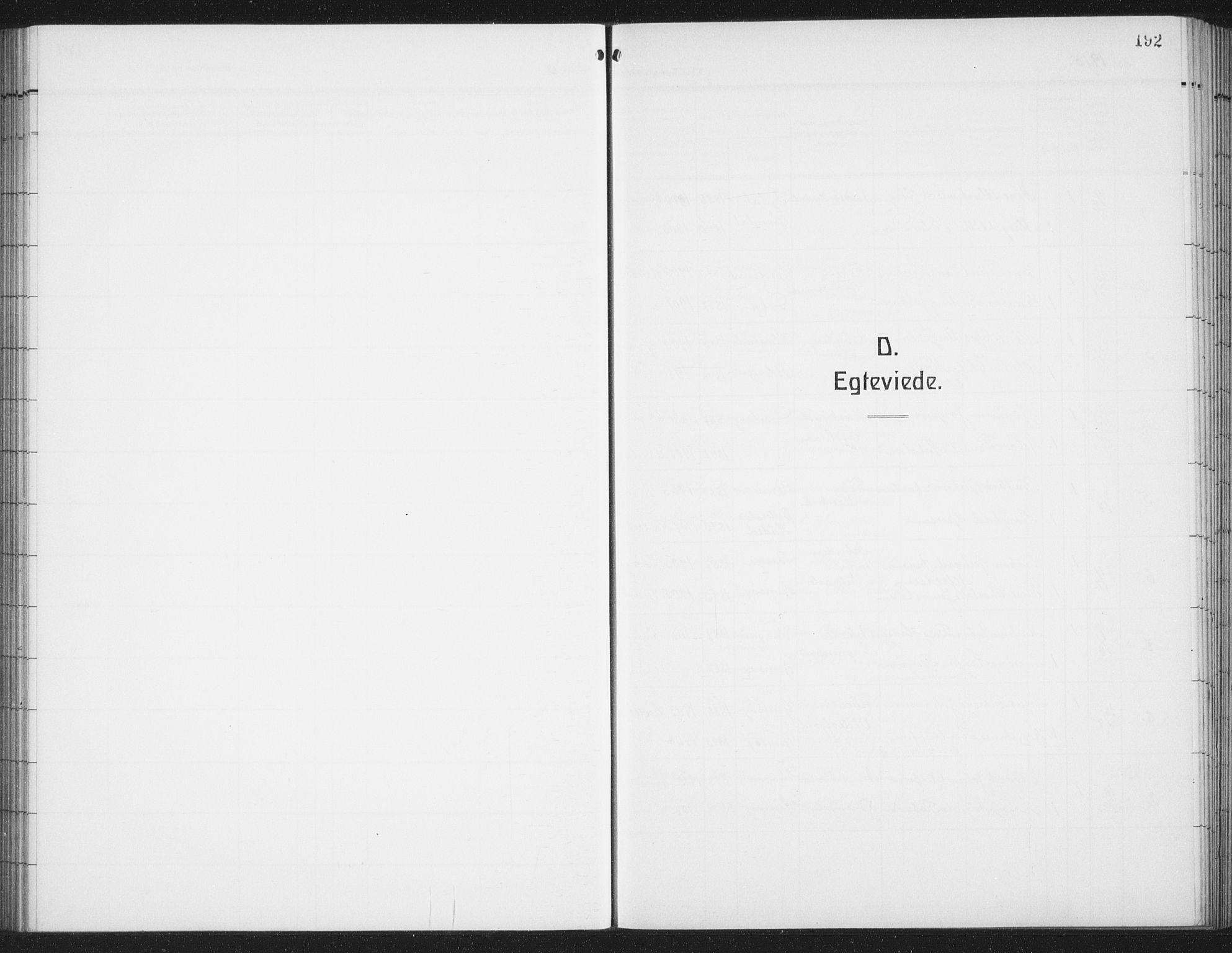 SAT, Ministerialprotokoller, klokkerbøker og fødselsregistre - Nordland, 876/L1106: Klokkerbok nr. 876C05, 1915-1942, s. 192