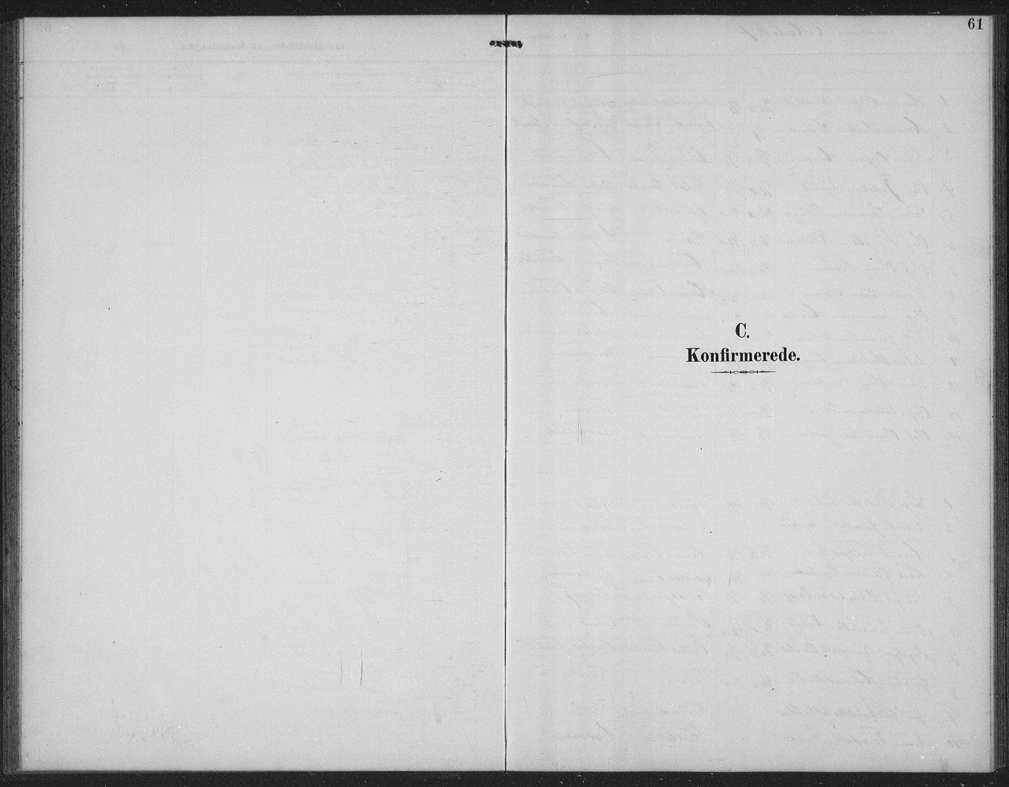 SAKO, Seljord kirkebøker, G/Gc/L0003: Klokkerbok nr. III 3, 1887-1926, s. 61