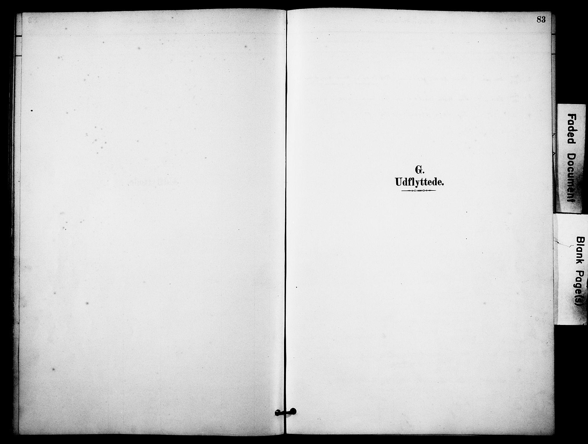 SAKO, Skåtøy kirkebøker, F/Fa/L0004: Ministerialbok nr. I 4, 1884-1900, s. 83