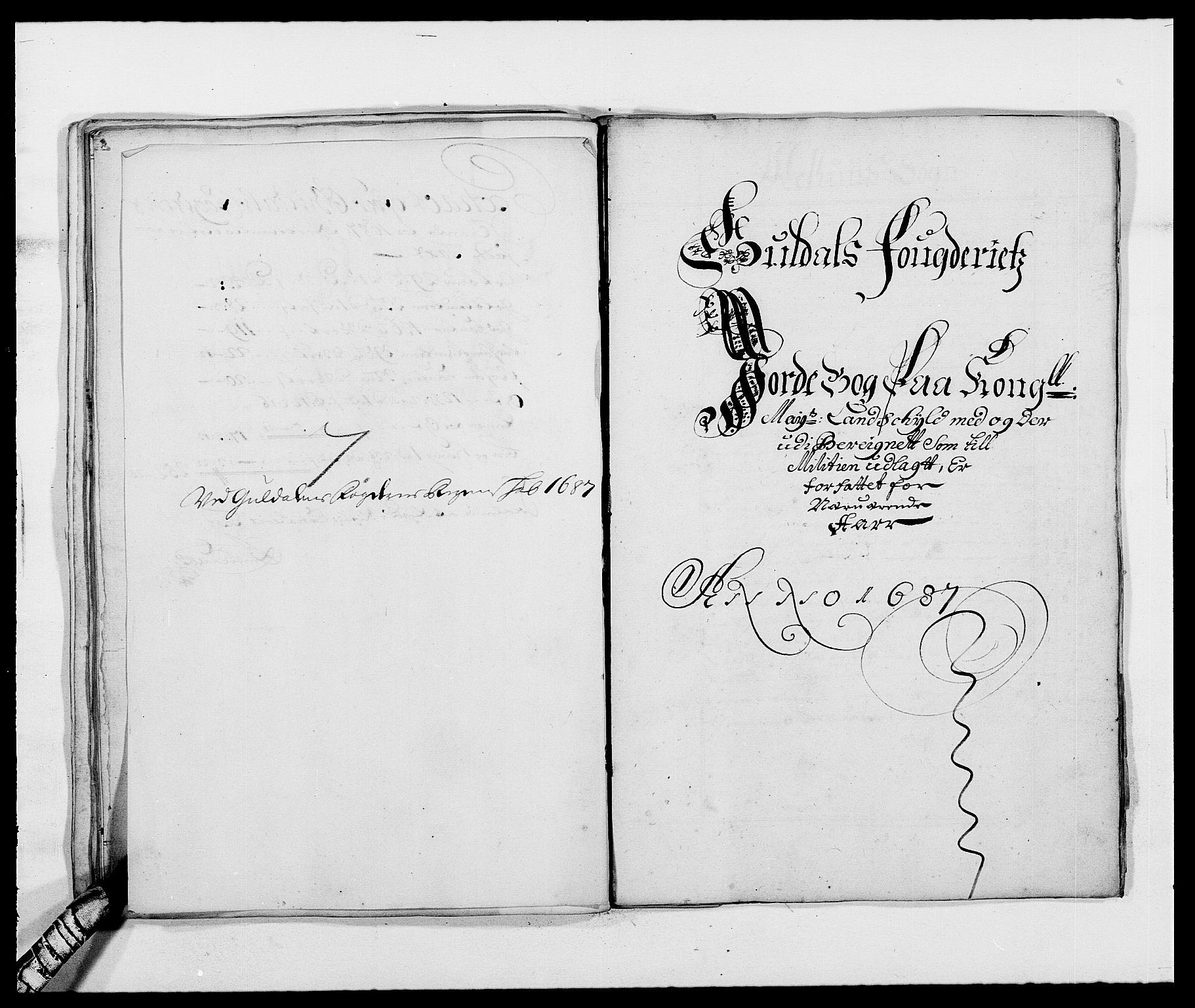 RA, Rentekammeret inntil 1814, Reviderte regnskaper, Fogderegnskap, R59/L3939: Fogderegnskap Gauldal, 1687-1688, s. 36