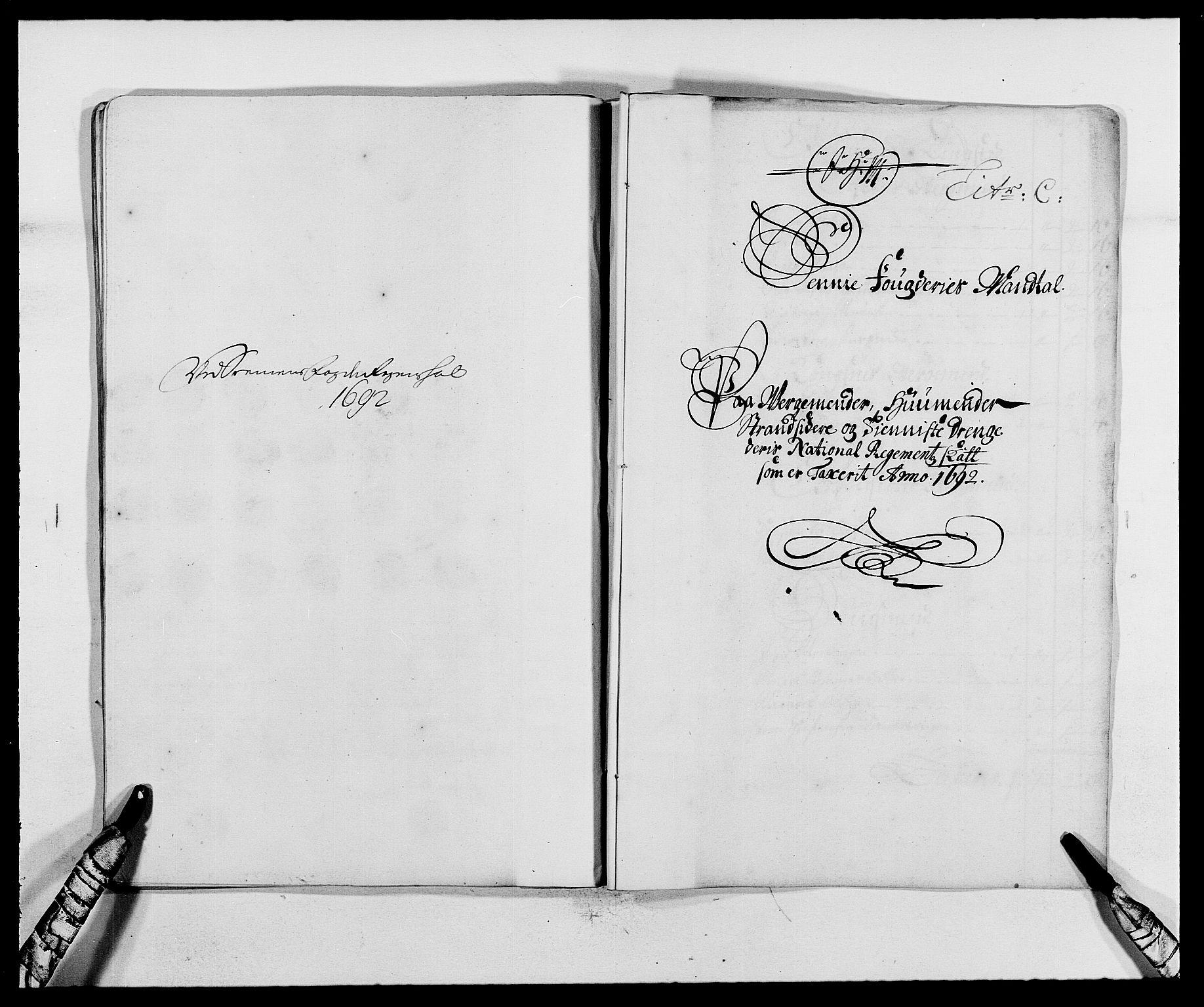 RA, Rentekammeret inntil 1814, Reviderte regnskaper, Fogderegnskap, R68/L4752: Fogderegnskap Senja og Troms, 1691-1693, s. 192