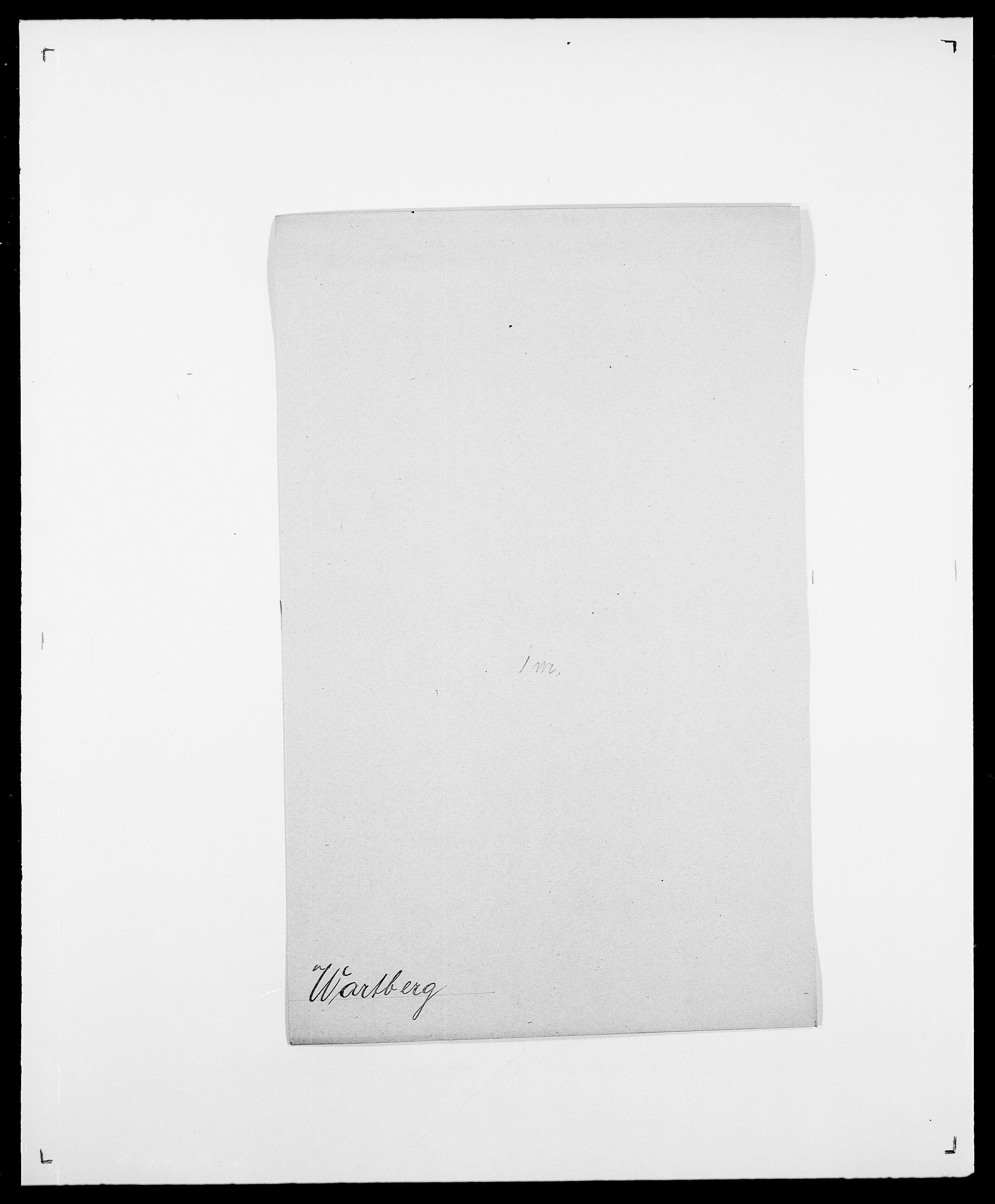 SAO, Delgobe, Charles Antoine - samling, D/Da/L0040: Usgaard - Velund, s. 343