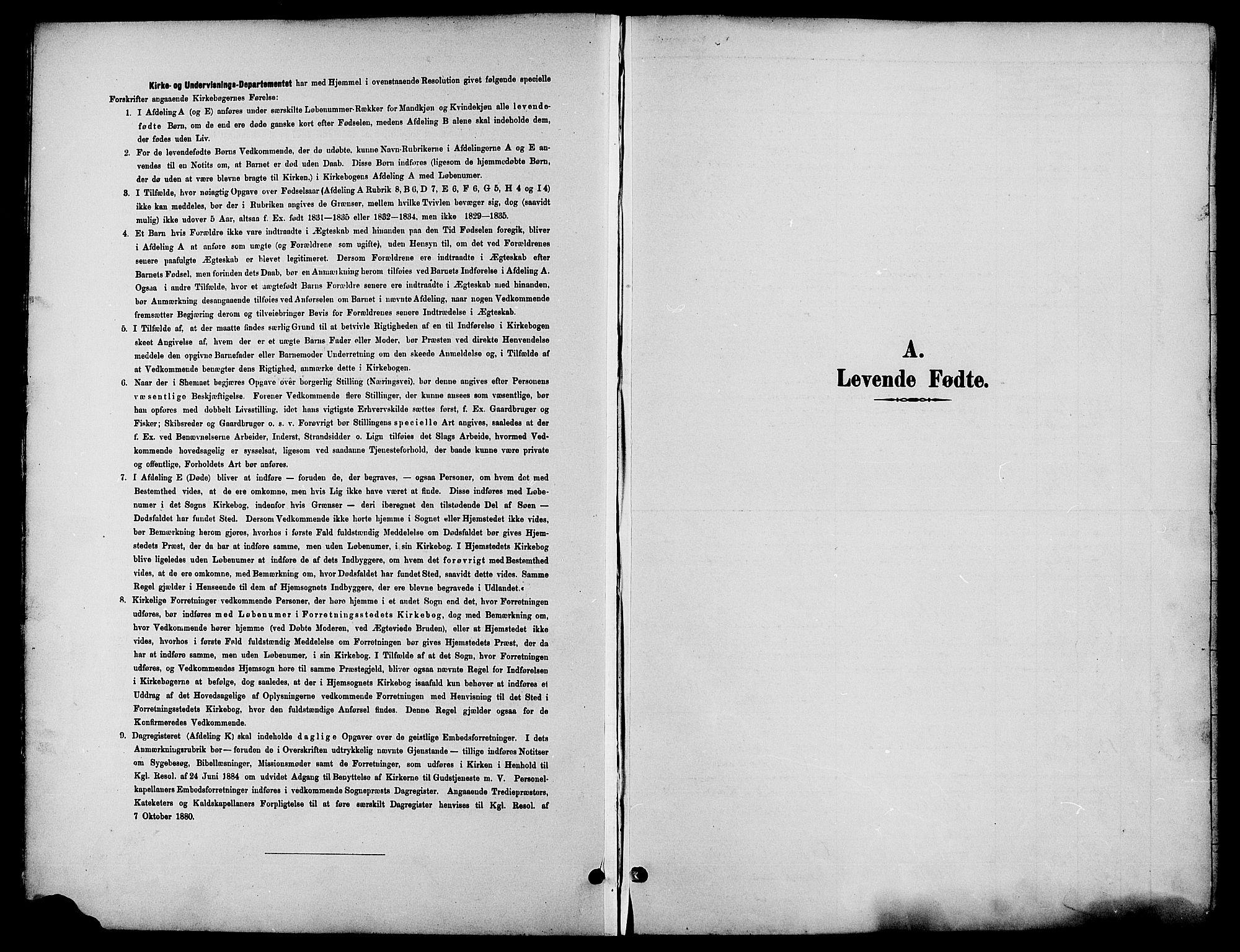 SAH, Biri prestekontor, Klokkerbok nr. 4, 1892-1909