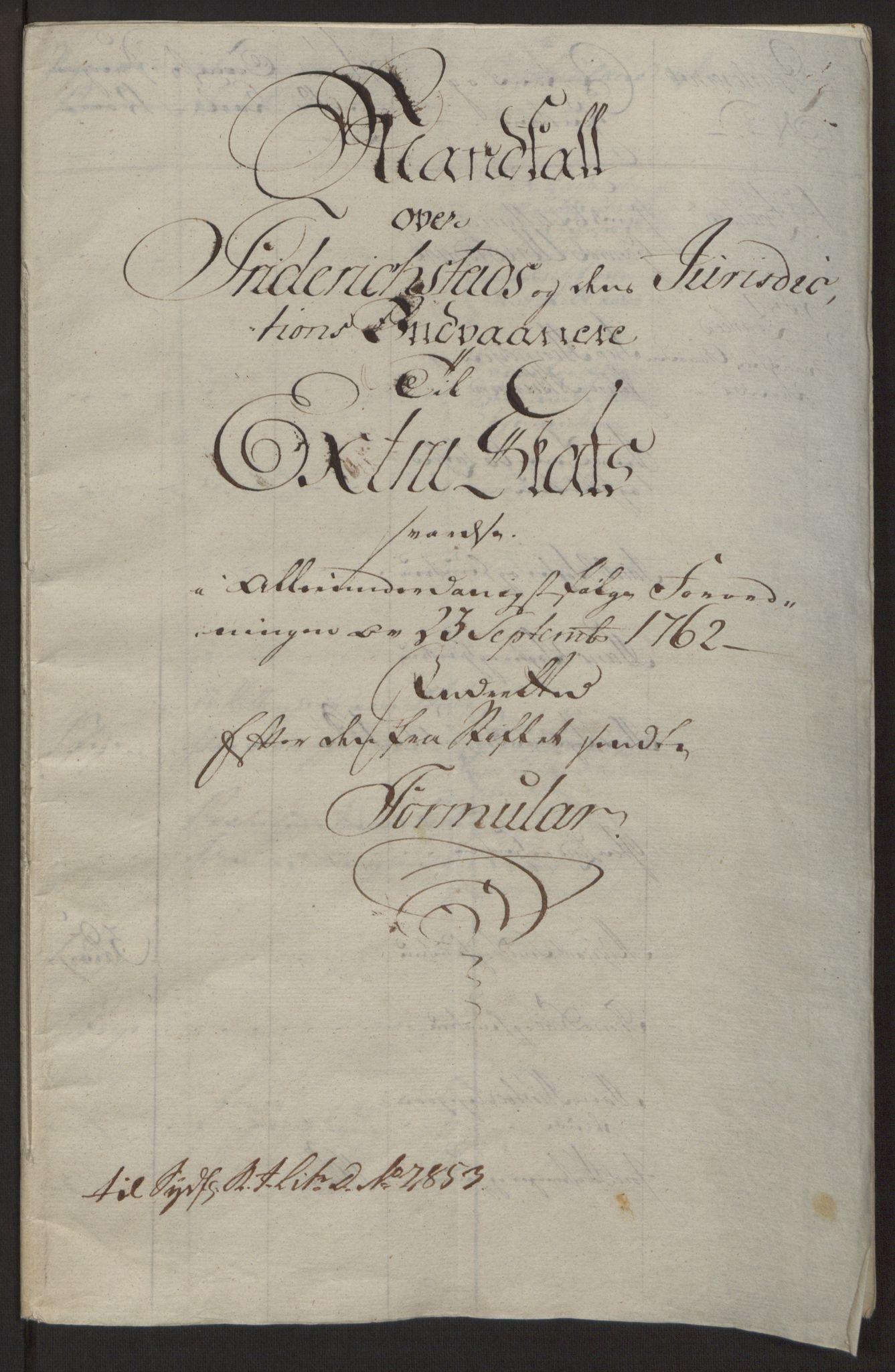 RA, Rentekammeret inntil 1814, Reviderte regnskaper, Byregnskaper, R/Rb/L0029: [B3] Kontribusjonsregnskap, 1762-1772, s. 15