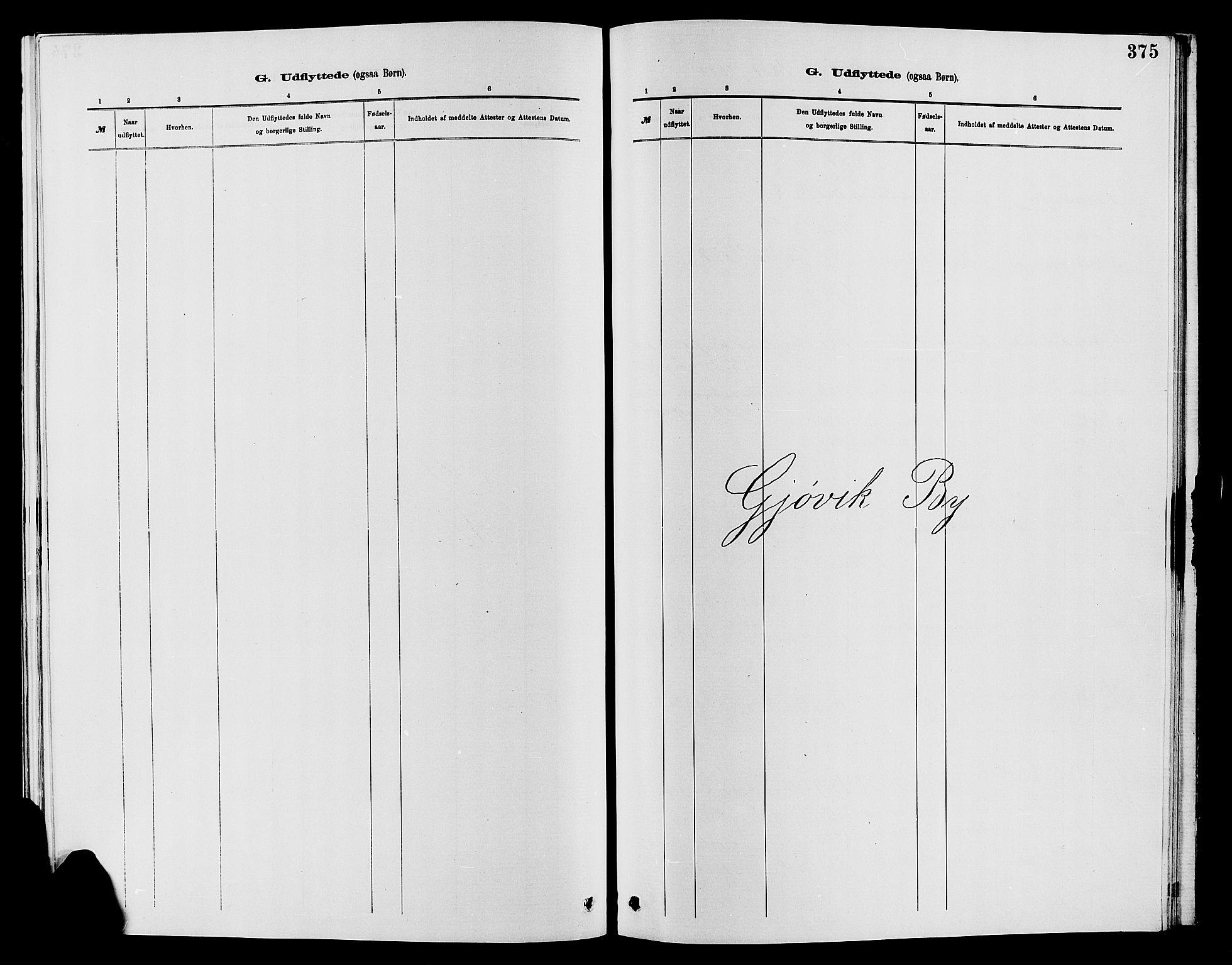 SAH, Vardal prestekontor, H/Ha/Hab/L0007: Klokkerbok nr. 7 /2, 1881-1895, s. 375