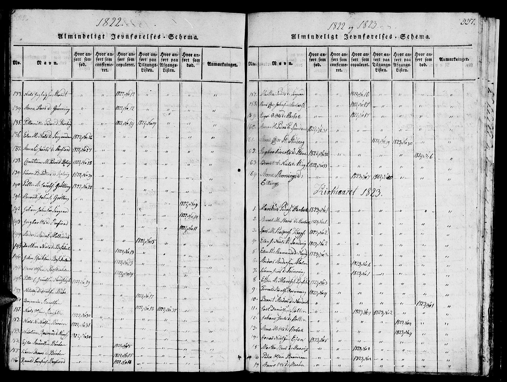 SAT, Ministerialprotokoller, klokkerbøker og fødselsregistre - Sør-Trøndelag, 657/L0714: Klokkerbok nr. 657C01, 1818-1868, s. 337