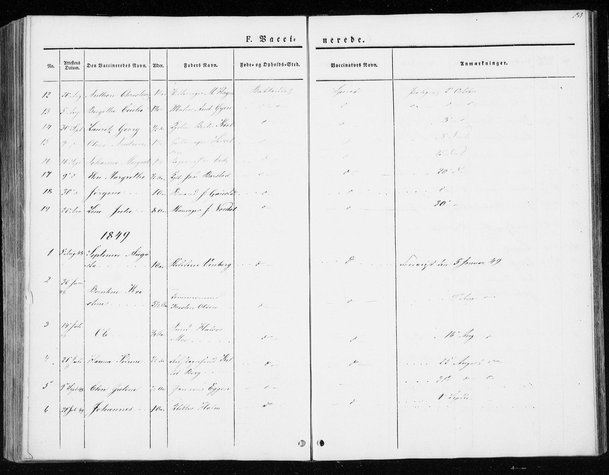 SAT, Ministerialprotokoller, klokkerbøker og fødselsregistre - Sør-Trøndelag, 604/L0183: Ministerialbok nr. 604A04, 1841-1850, s. 183