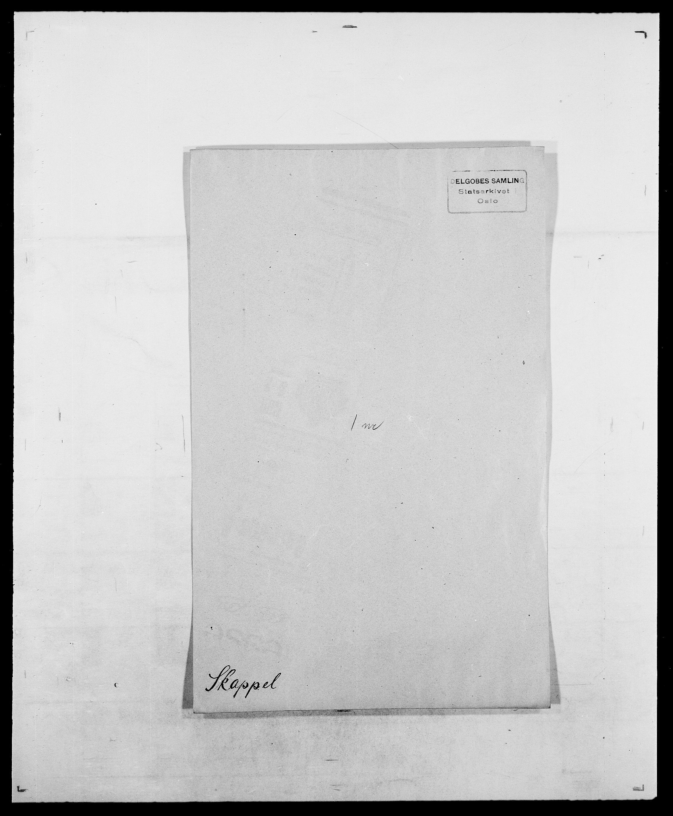 SAO, Delgobe, Charles Antoine - samling, D/Da/L0036: Skaanør - Staverskov, s. 30