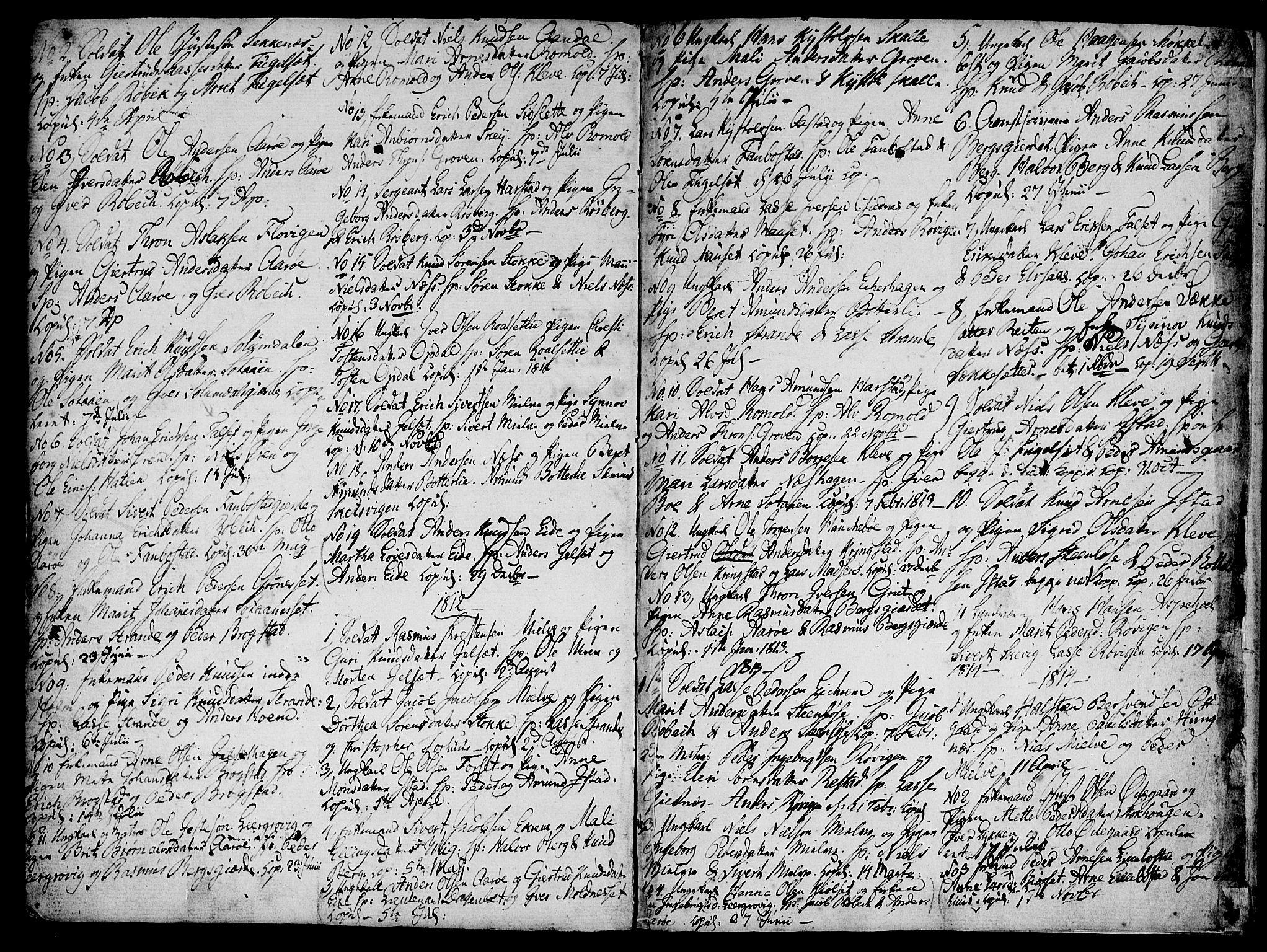 SAT, Ministerialprotokoller, klokkerbøker og fødselsregistre - Møre og Romsdal, 555/L0650: Ministerialbok nr. 555A02 /2, 1798-1821, s. 140