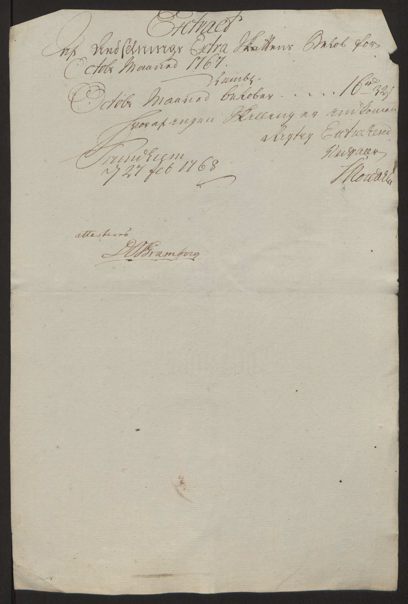RA, Rentekammeret inntil 1814, Reviderte regnskaper, Fogderegnskap, R64/L4502: Ekstraskatten Namdal, 1762-1772, s. 255