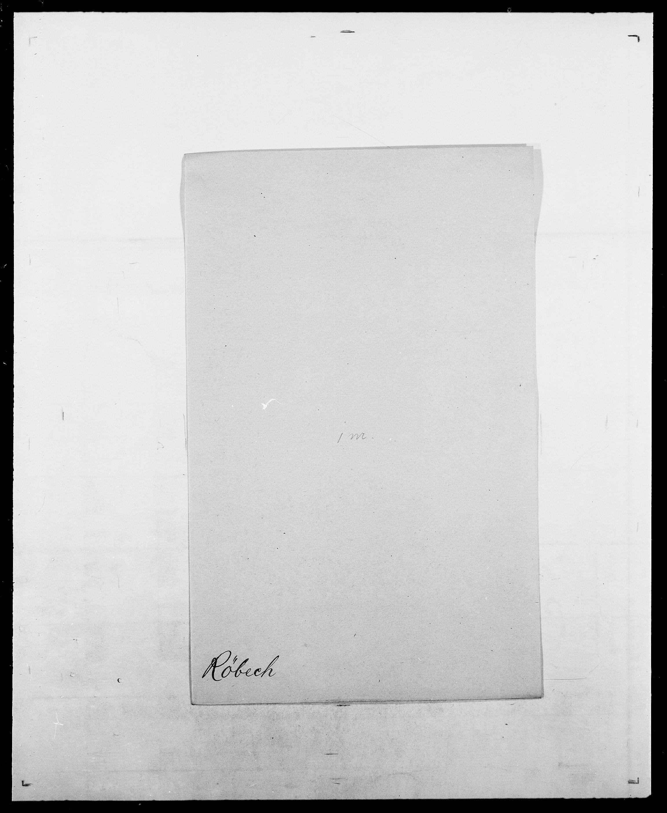 SAO, Delgobe, Charles Antoine - samling, D/Da/L0033: Roald - Røyem, s. 621
