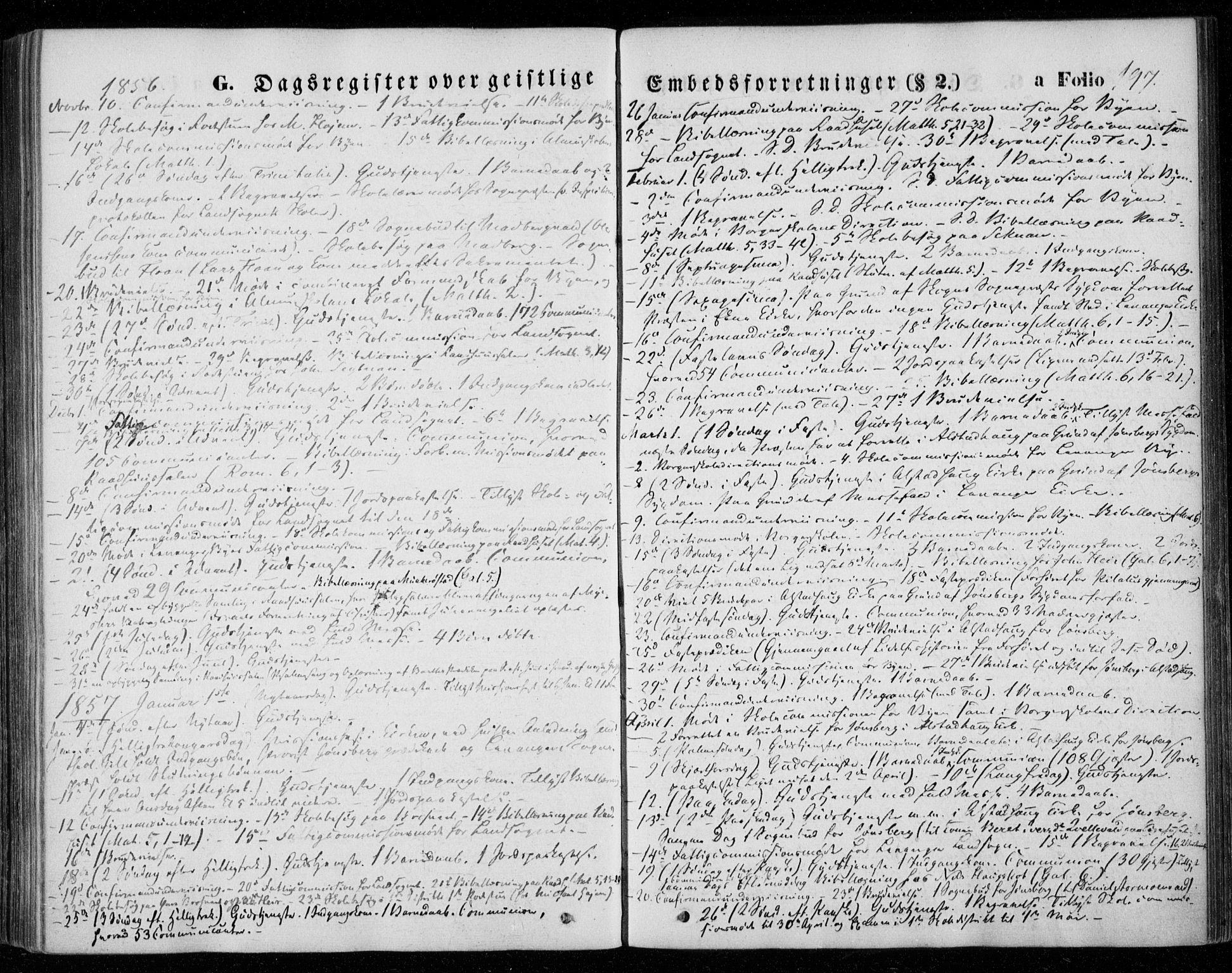 SAT, Ministerialprotokoller, klokkerbøker og fødselsregistre - Nord-Trøndelag, 720/L0184: Ministerialbok nr. 720A02 /1, 1855-1863, s. 197