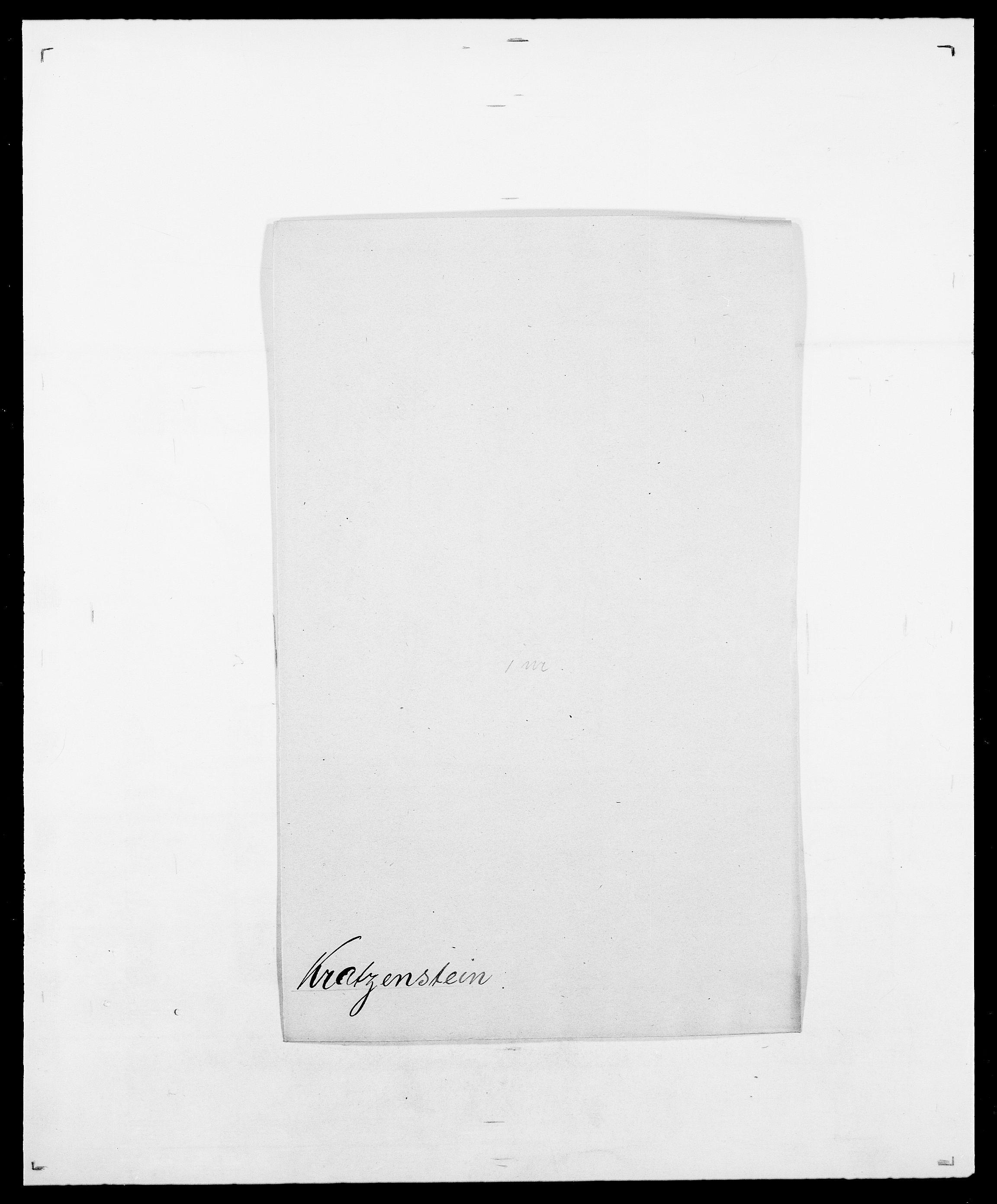 SAO, Delgobe, Charles Antoine - samling, D/Da/L0021: Klagenberg - Kristoft, s. 734