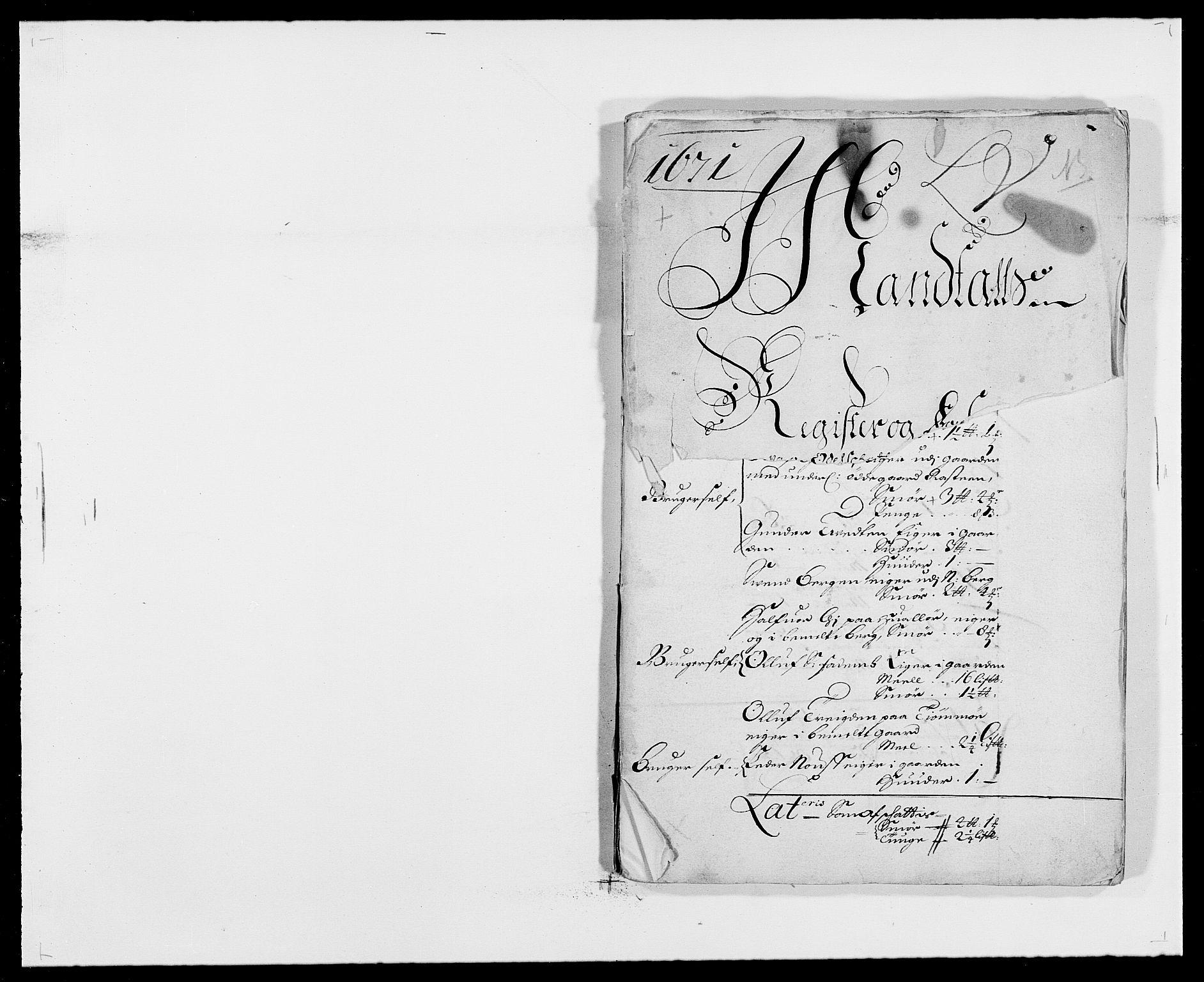 RA, Rentekammeret inntil 1814, Reviderte regnskaper, Fogderegnskap, R32/L1841: Fogderegnskap Jarlsberg grevskap, 1664-1673, s. 155