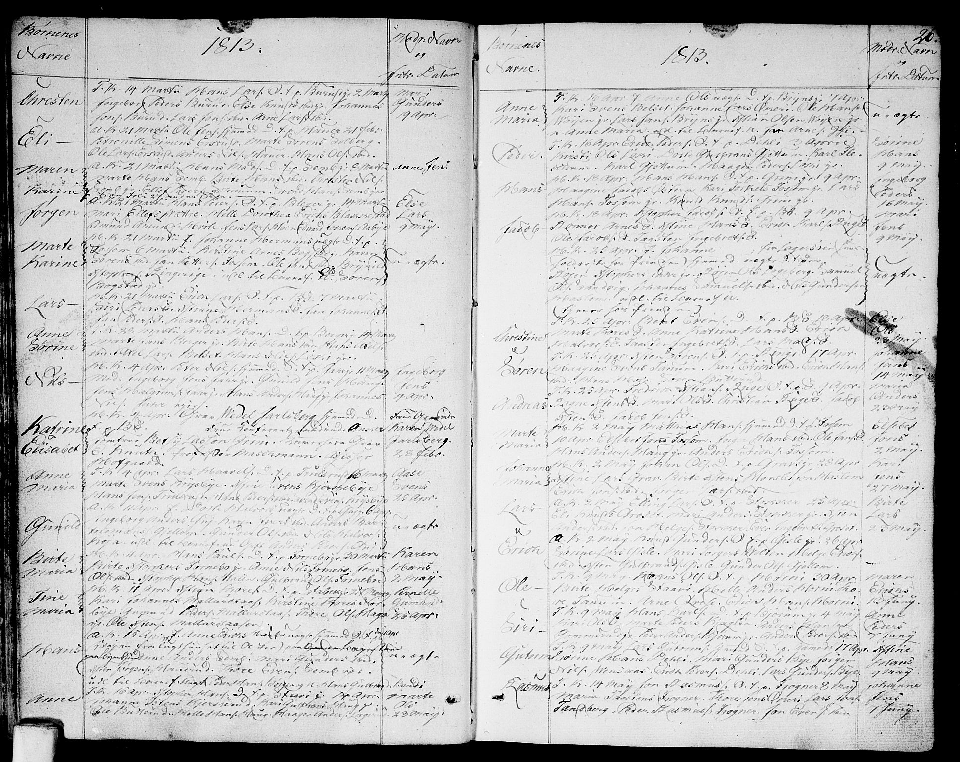 SAO, Asker prestekontor Kirkebøker, F/Fa/L0005: Ministerialbok nr. I 5, 1807-1813, s. 26