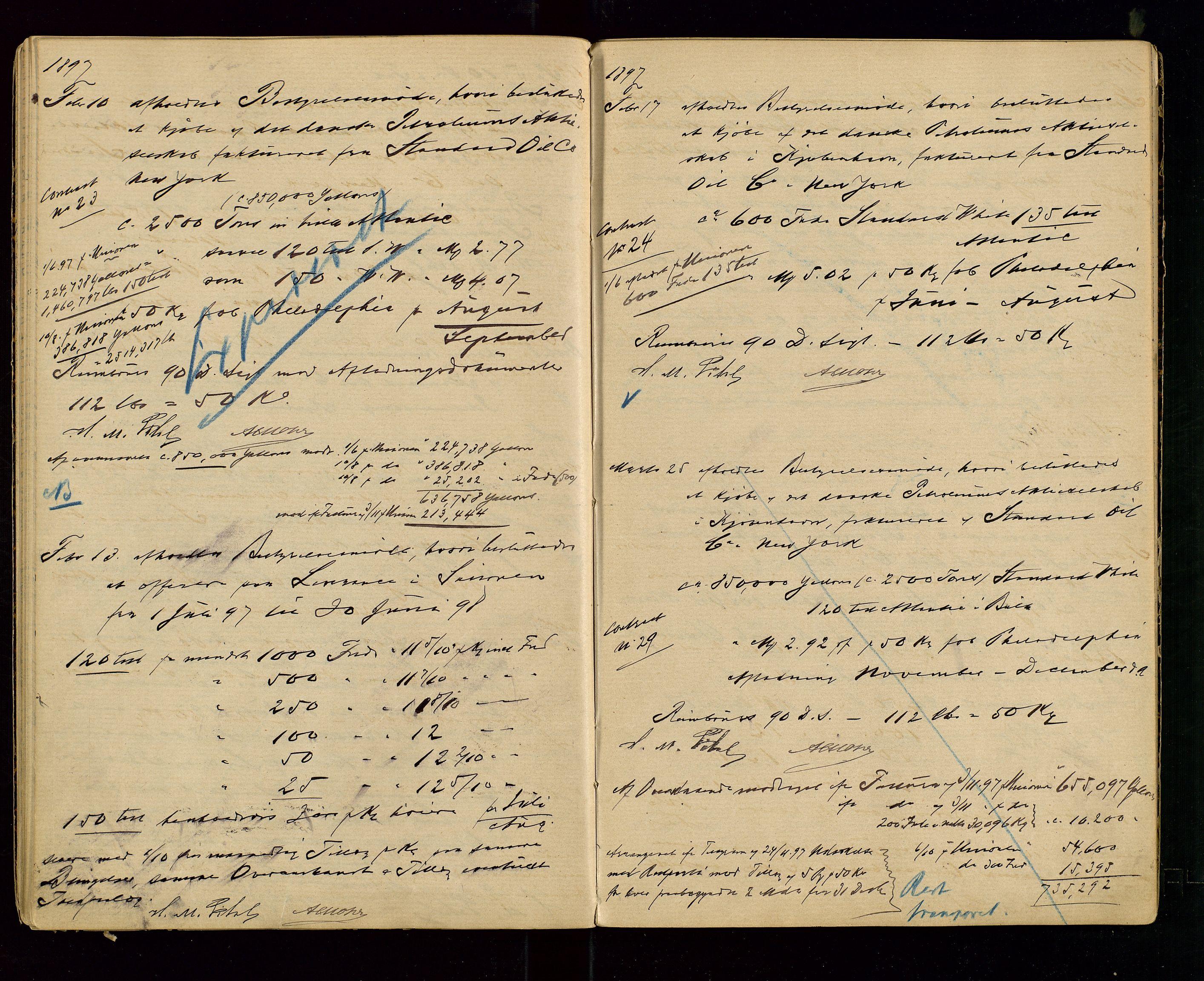 SAST, PA 1533 - A/S Vestlandske Petroleumscompani, A/Aa/L0001: Generalforsamlinger og styreprotokoller, 1890-1907, s. 29