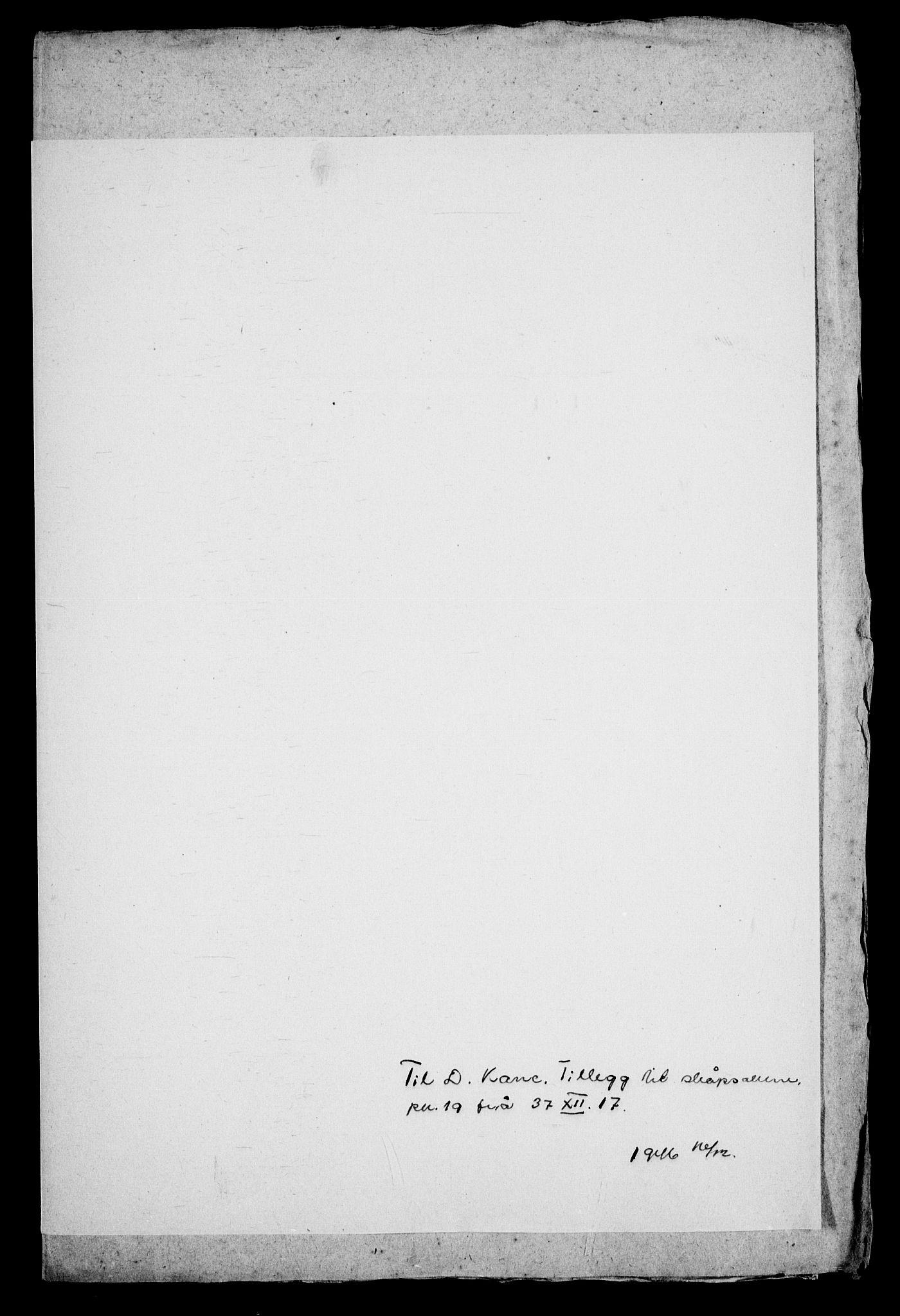 RA, Danske Kanselli, Skapsaker, G/L0019: Tillegg til skapsakene, 1616-1753, s. 141