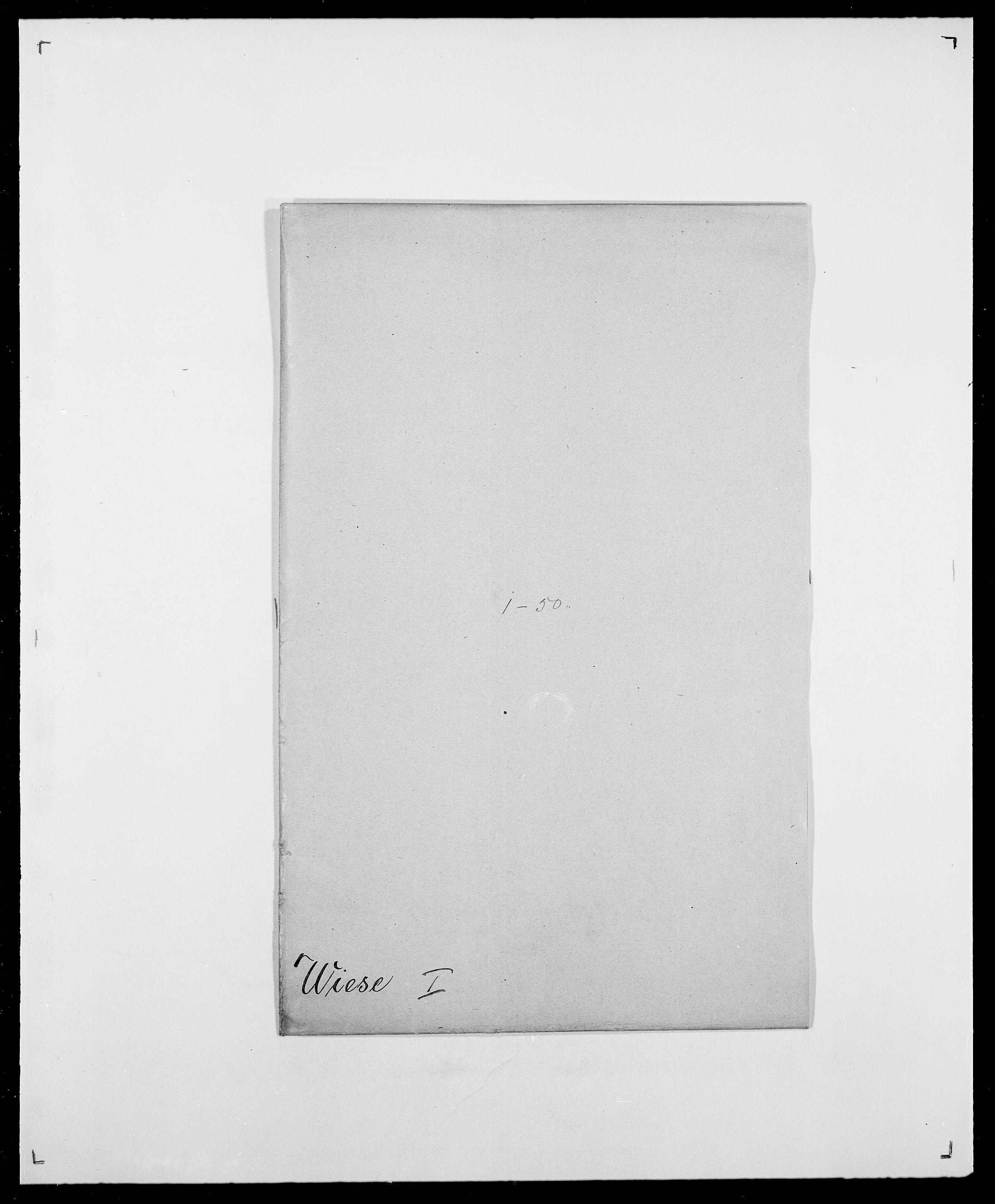 SAO, Delgobe, Charles Antoine - samling, D/Da/L0041: Vemmestad - Viker, s. 511